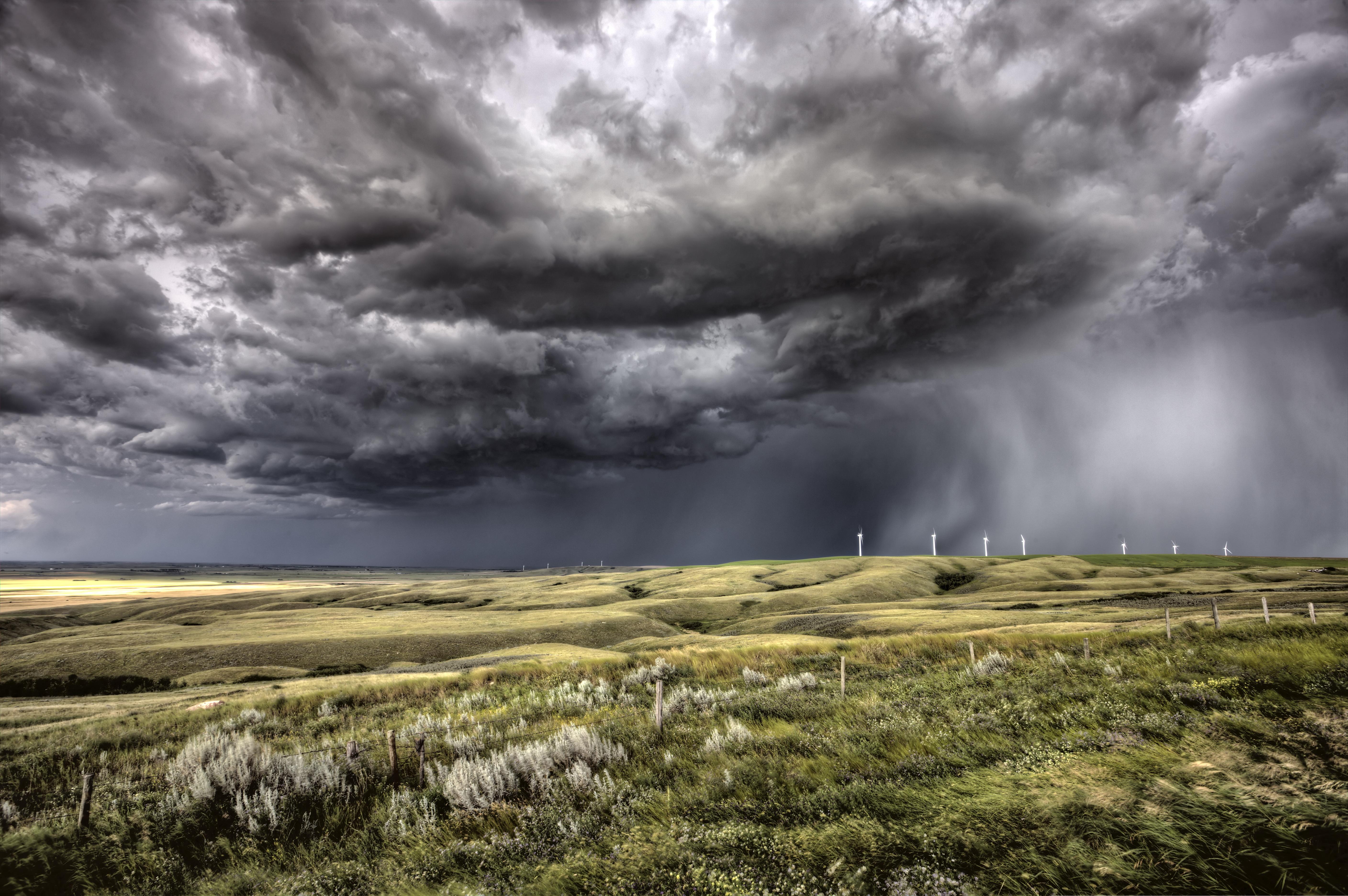 Ultra heavy clouds / 3000 x 2000 / Skyandclouds, Landscape ...