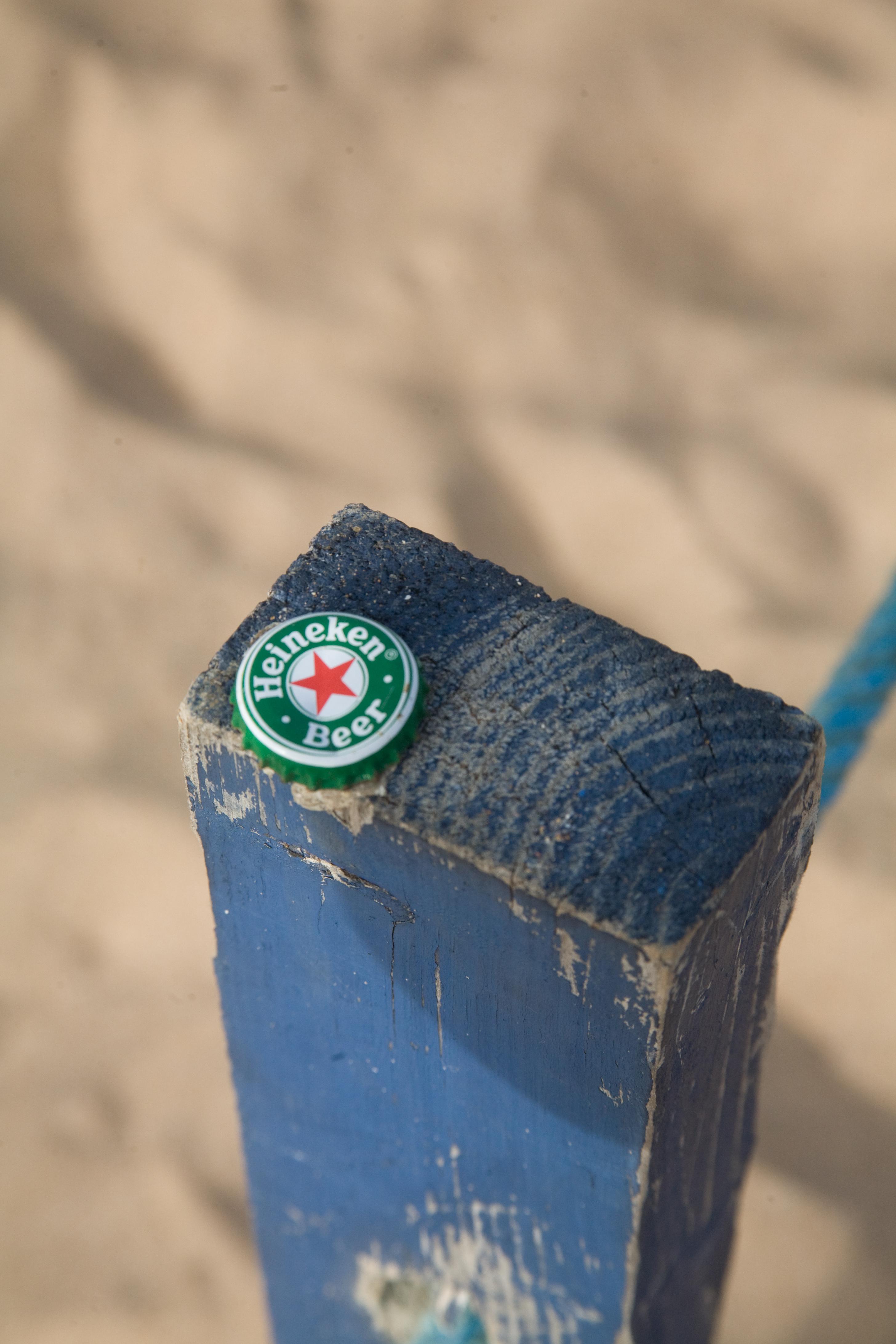 Heineken beer cap photo