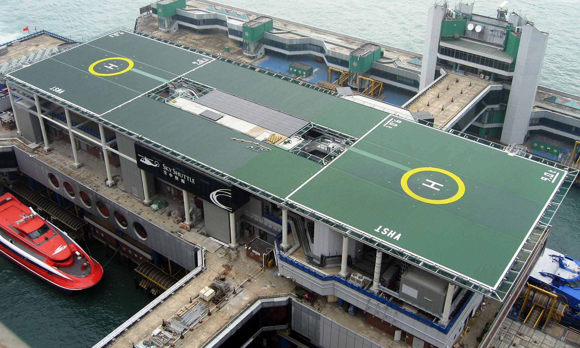 Elevated and Rooftop Helipads and Heliports