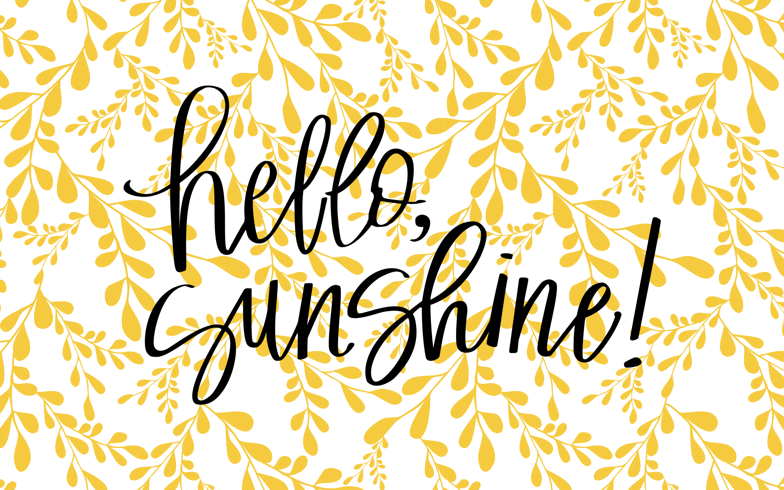 Free Photo Hello Sunshine