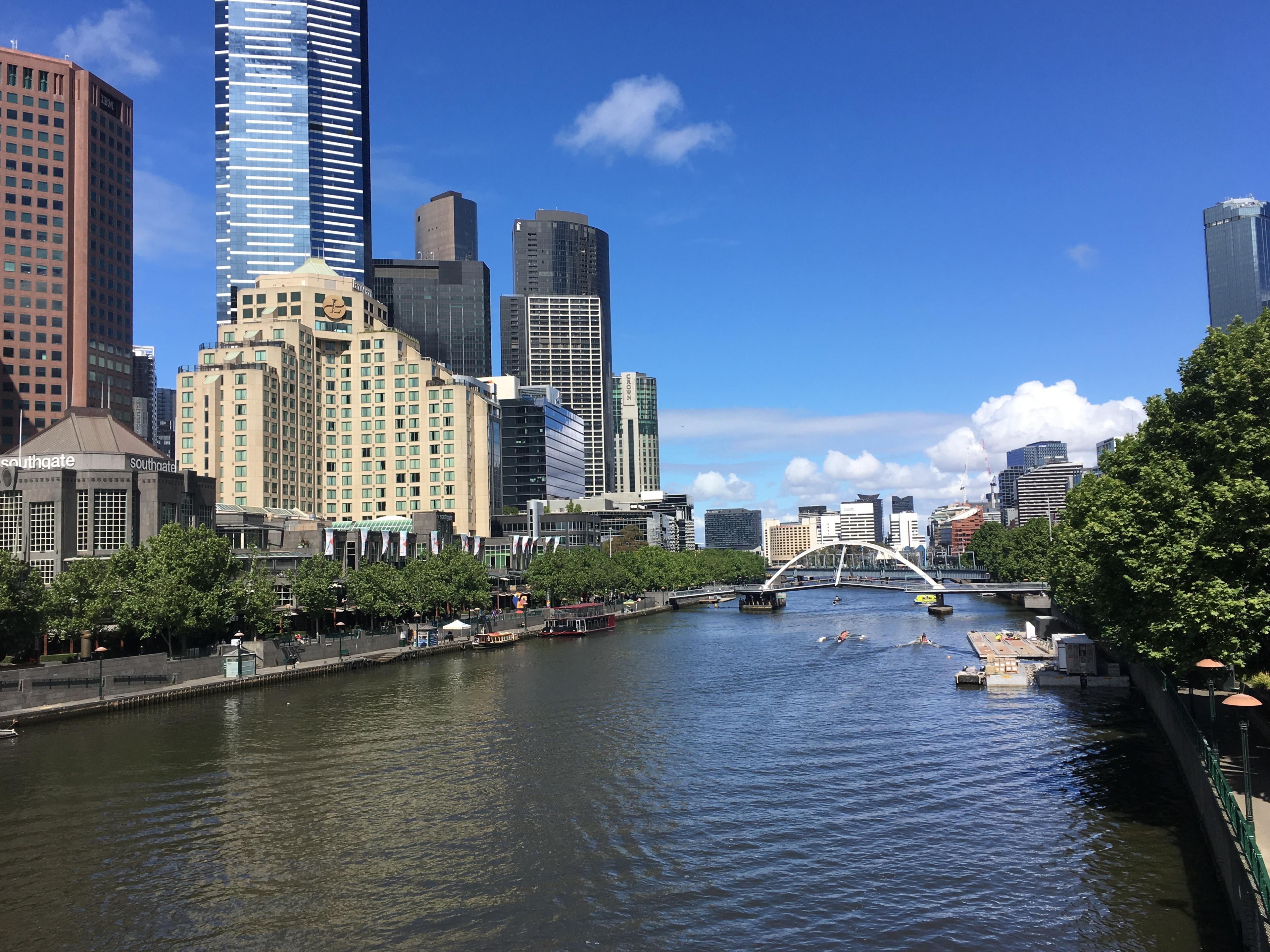 Hello yarra river photo