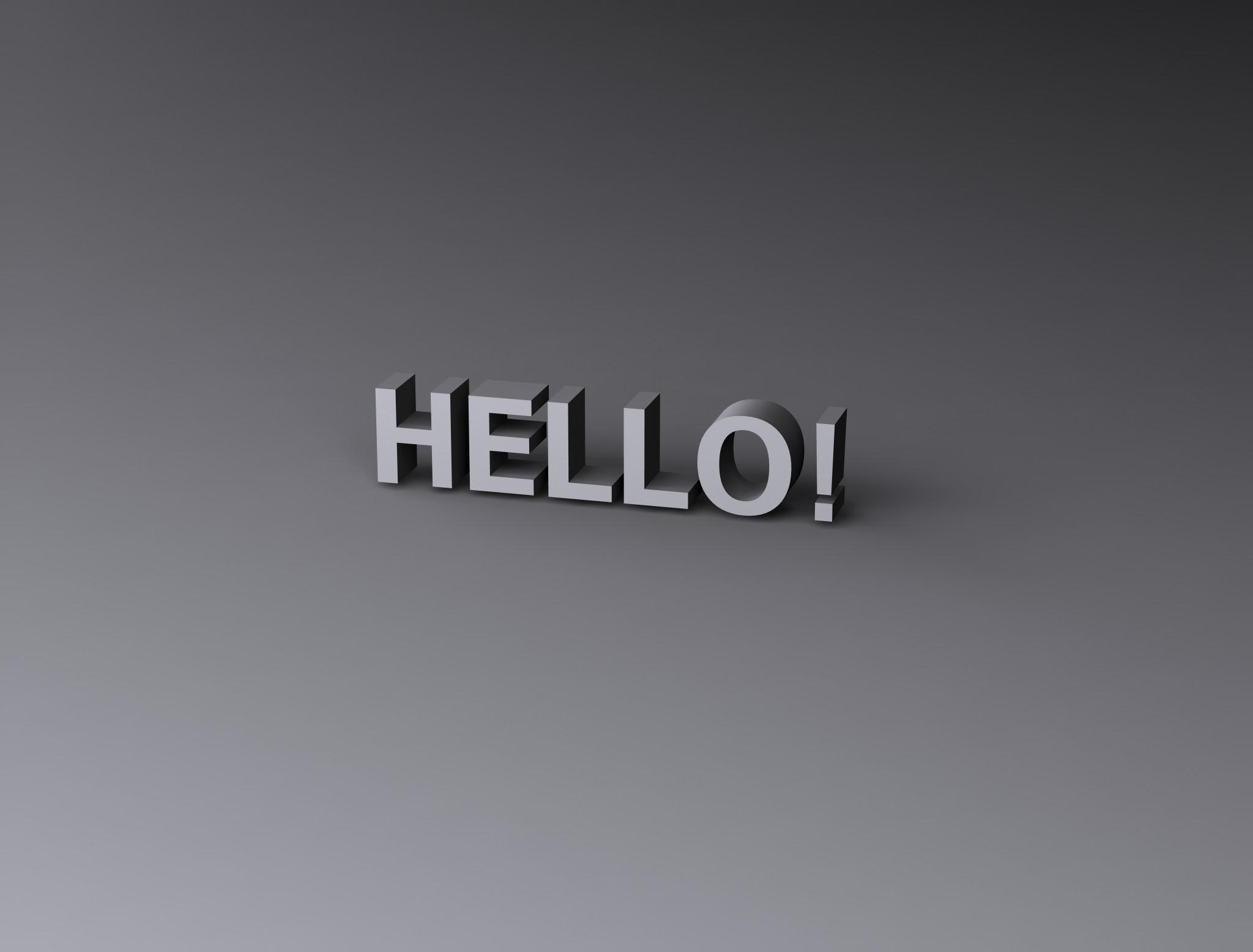 Hello! photo