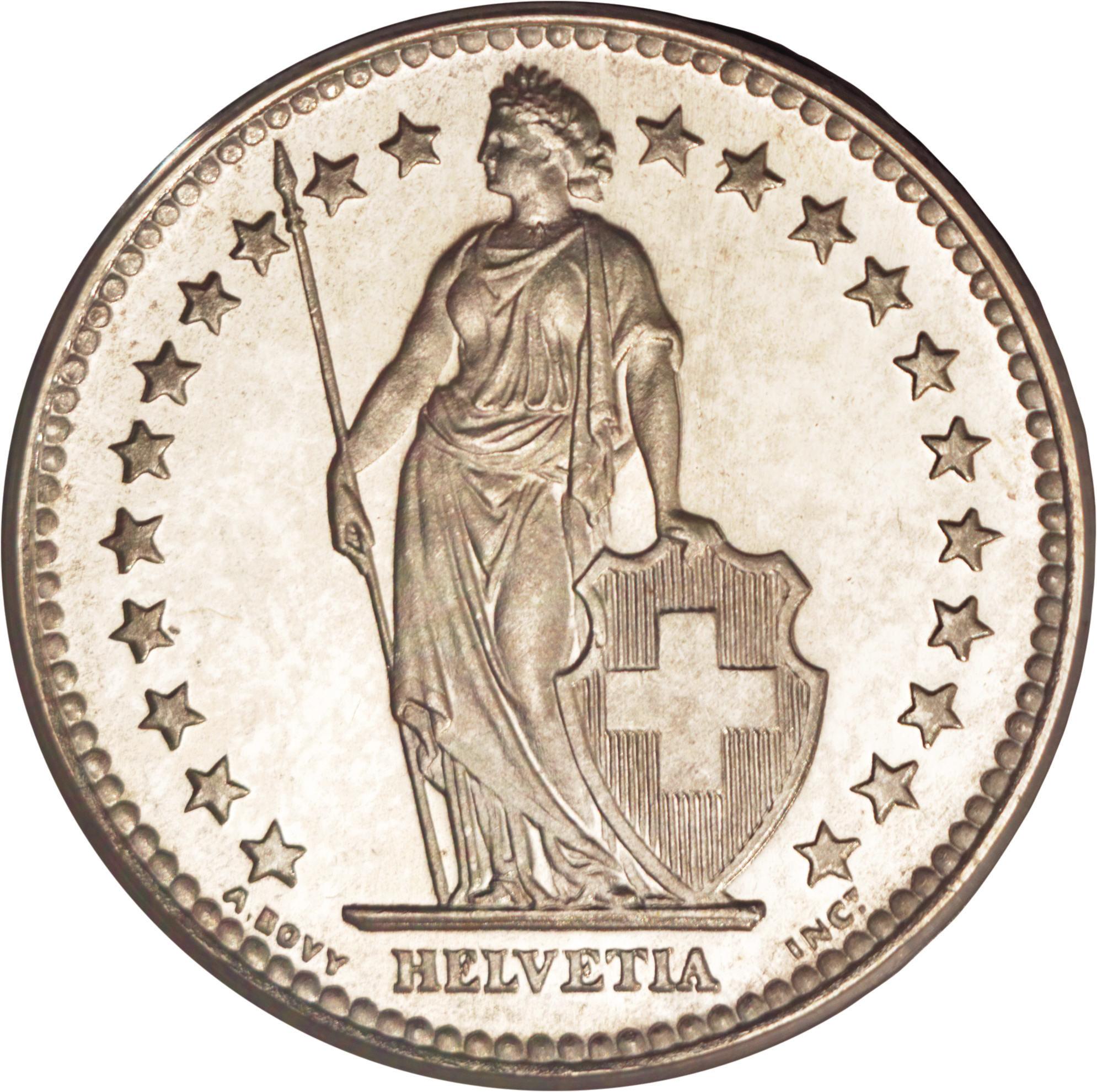2 Francs - Switzerland – Numista