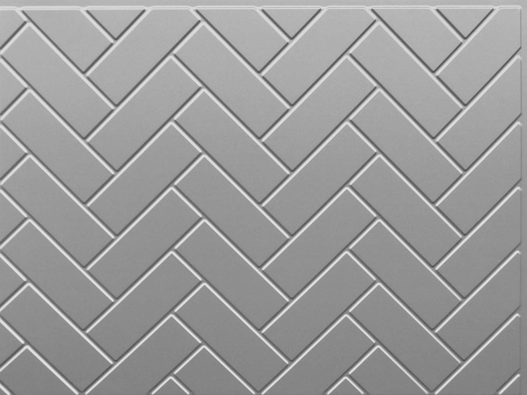 Herringbone Tile (Sample) | ATI Decorative Laminates