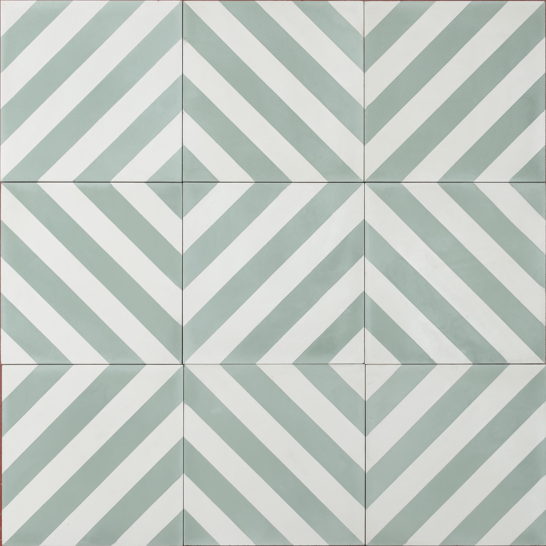 Herringbone – laurel/pure white | MarrakechDesign