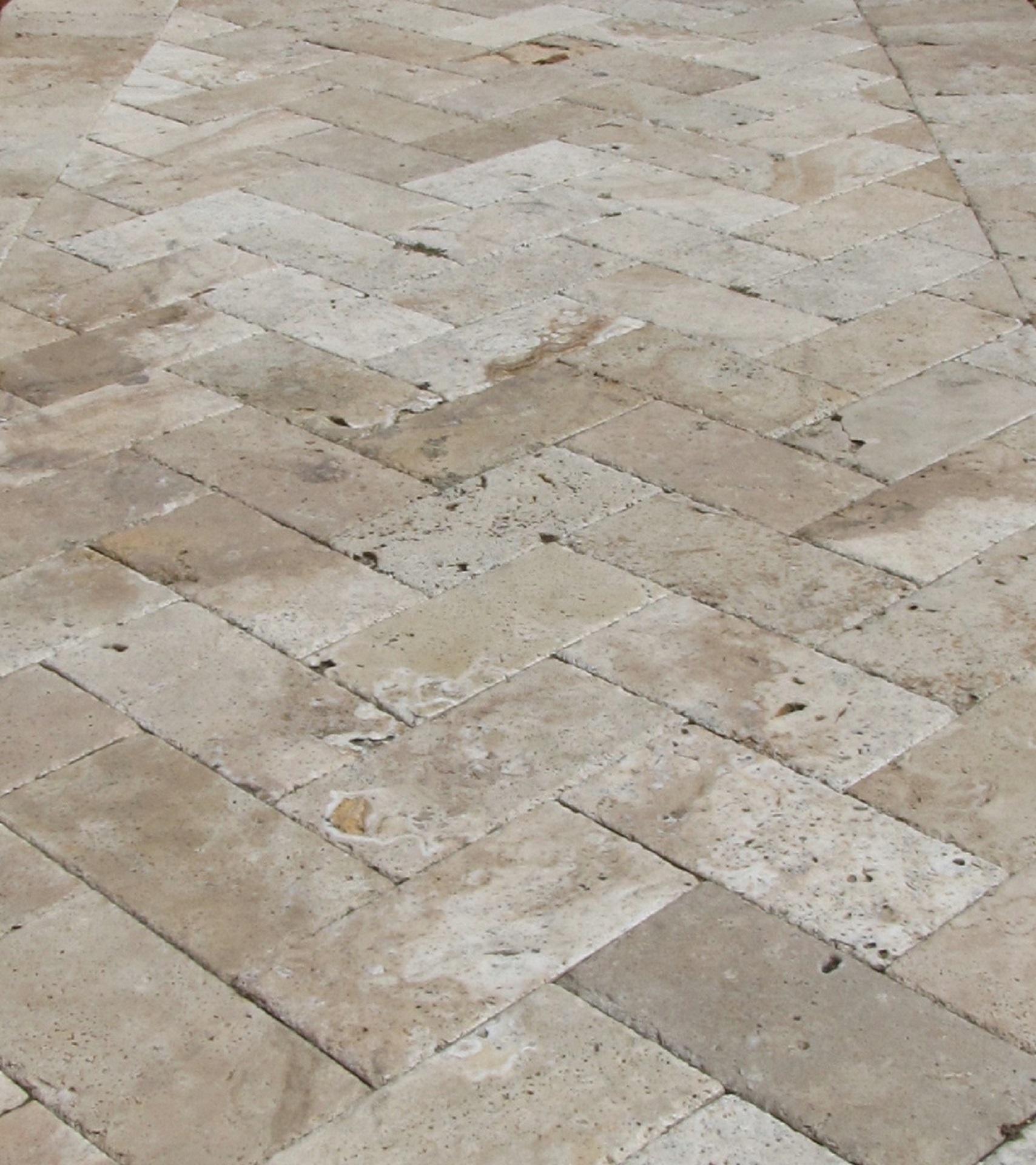 Herringbone, sildeben mursten