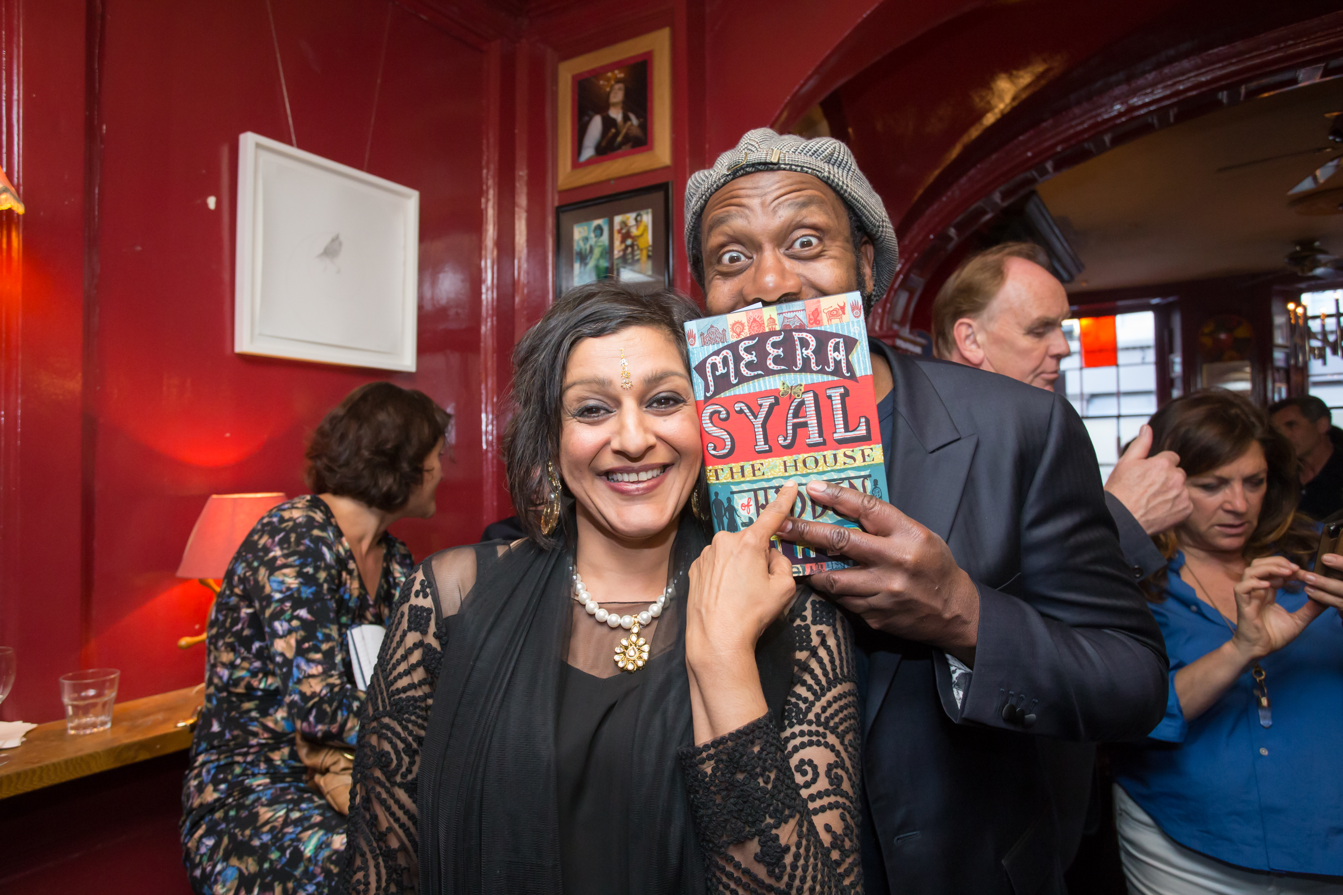 Meera Syal and Lenny Henry at the launch of The House of Hidden ...