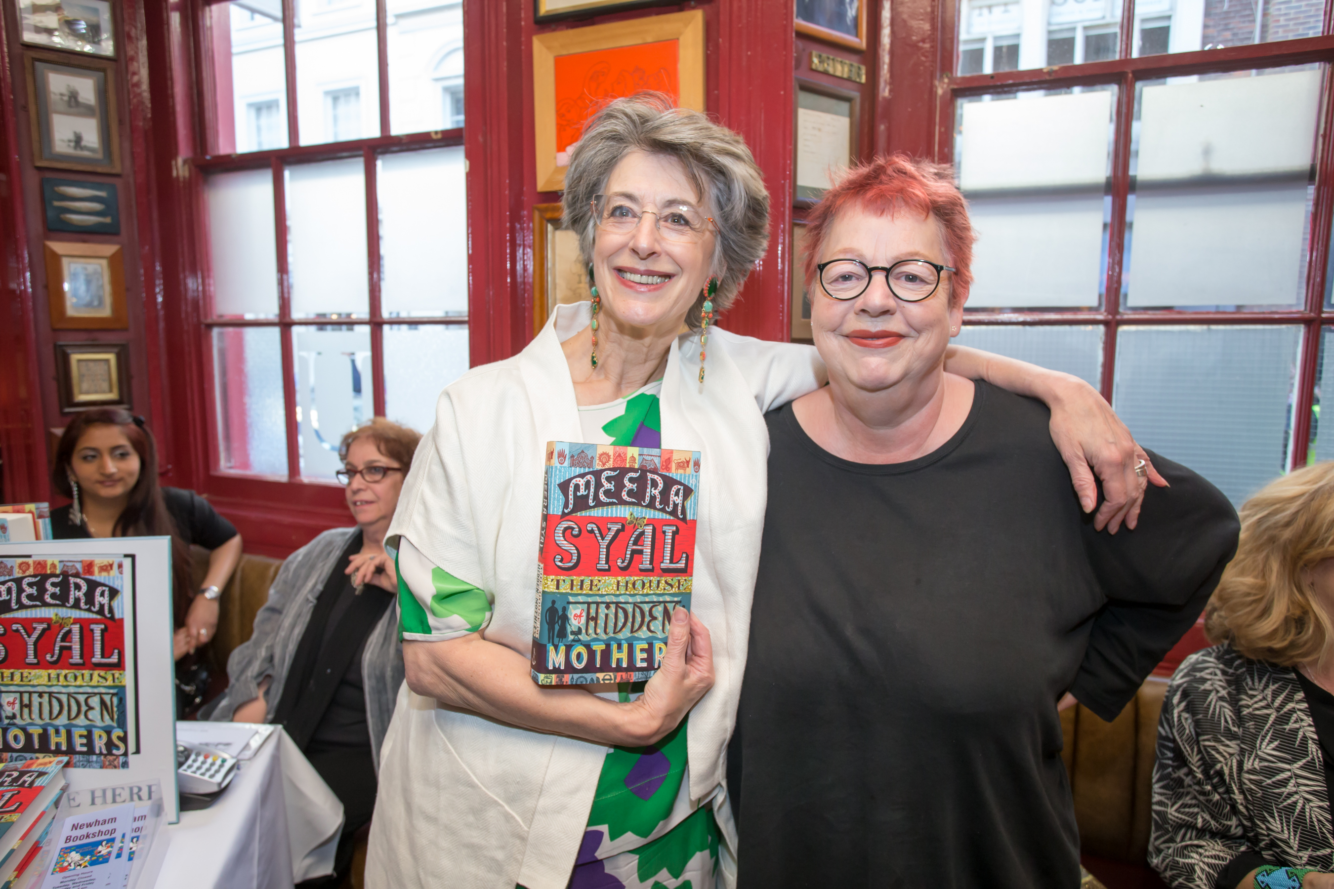 Maureen Lipman and Jo Brand at the Launch of The House of Hidden ...