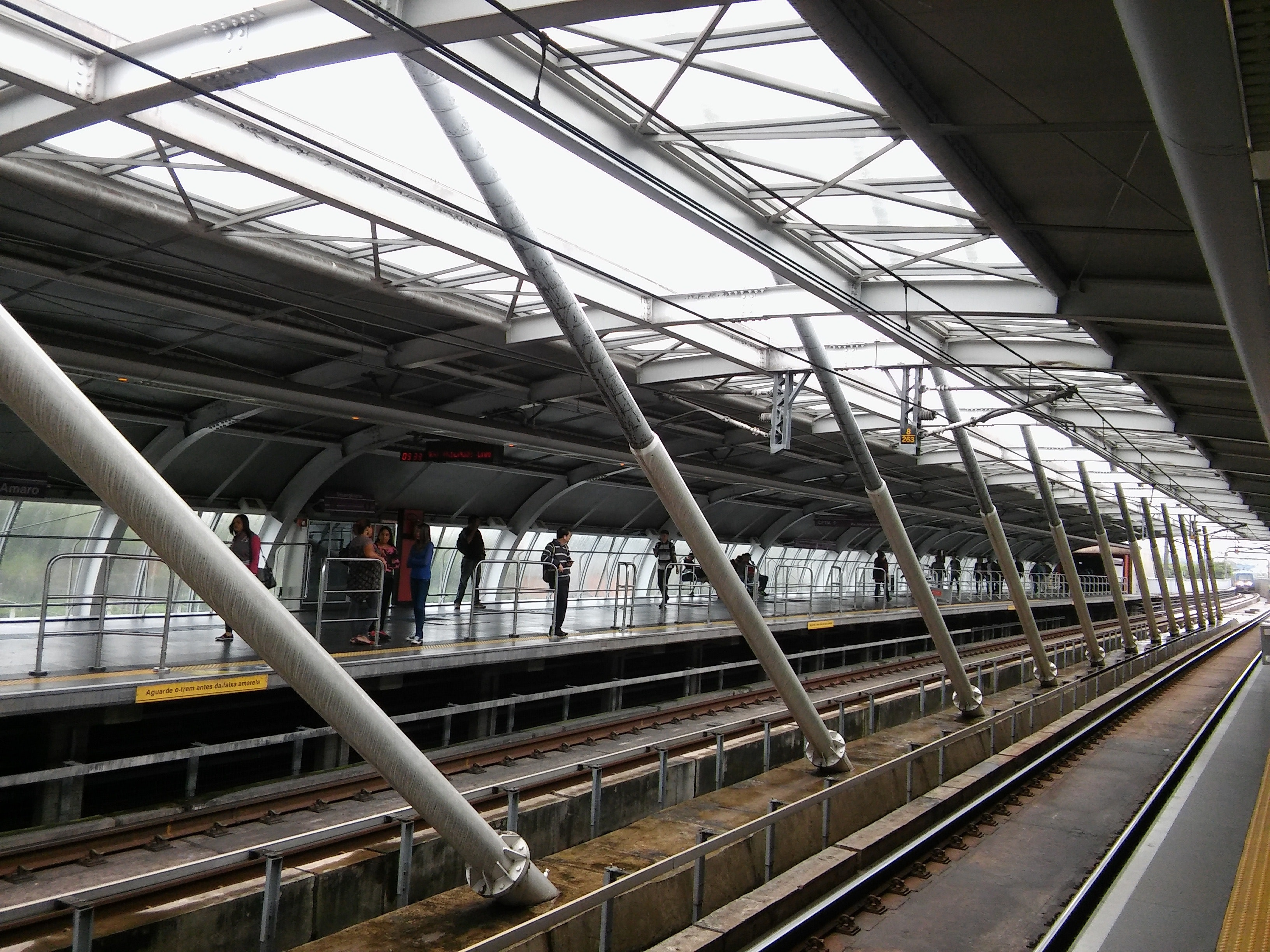 High Angle View of Elevated View of Railroad Station, Station, Urban, Tube, Travel, HQ Photo