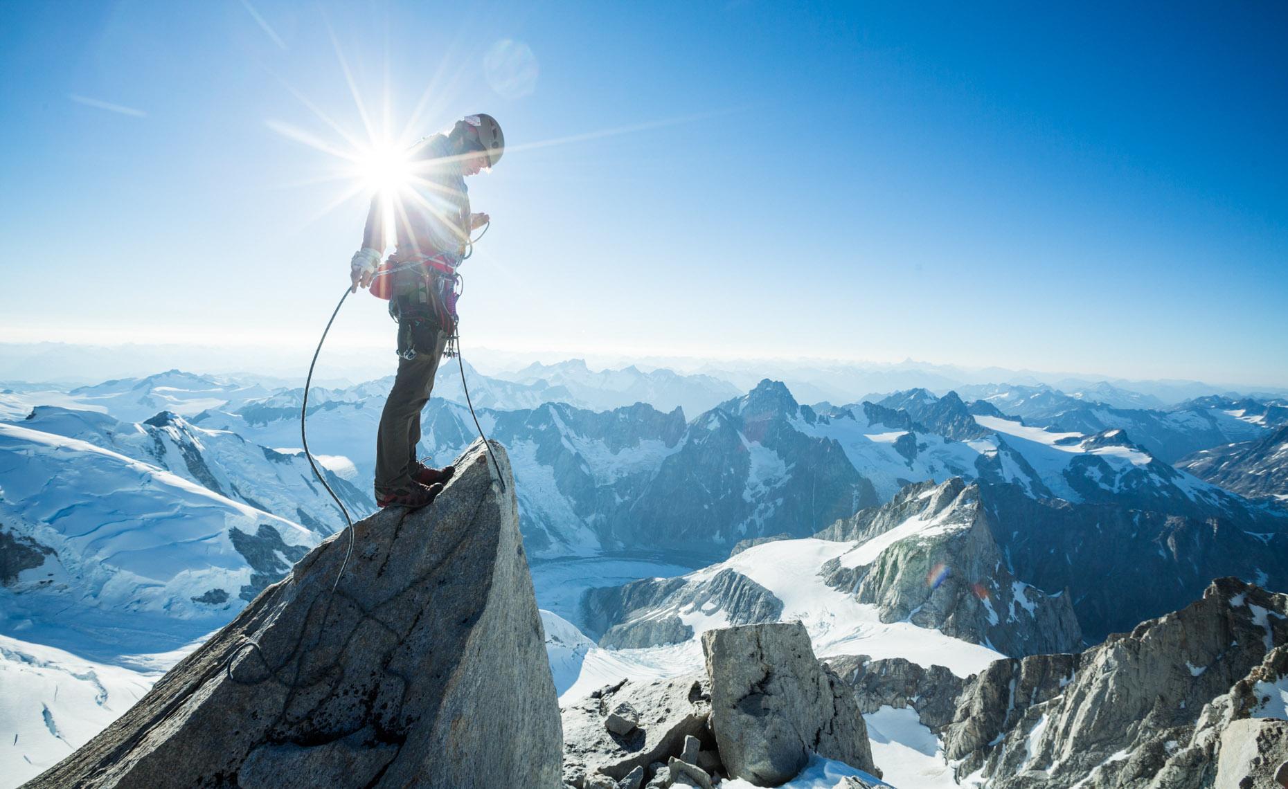 High climb photo