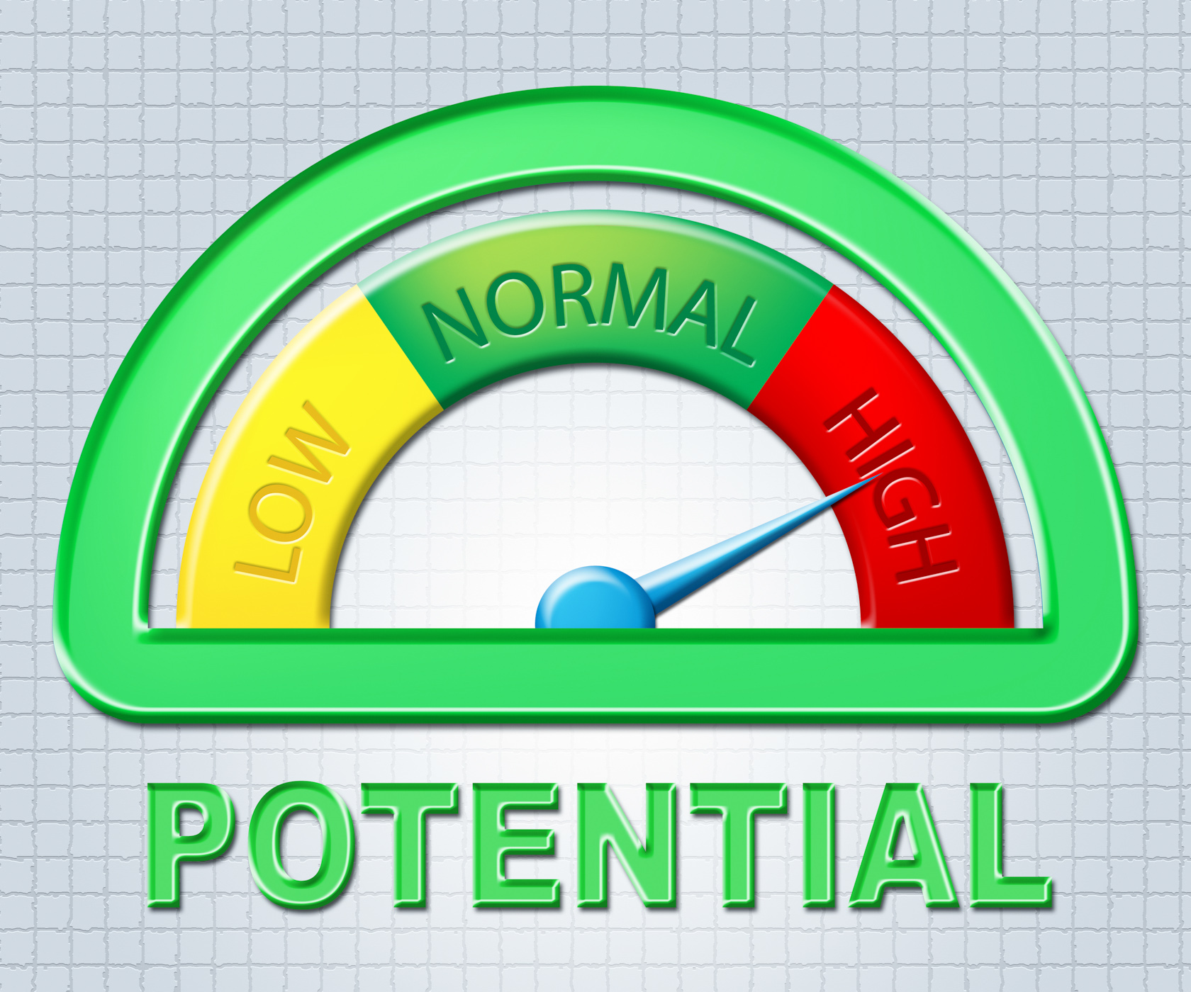 High potential means cleverness skill and capacity photo