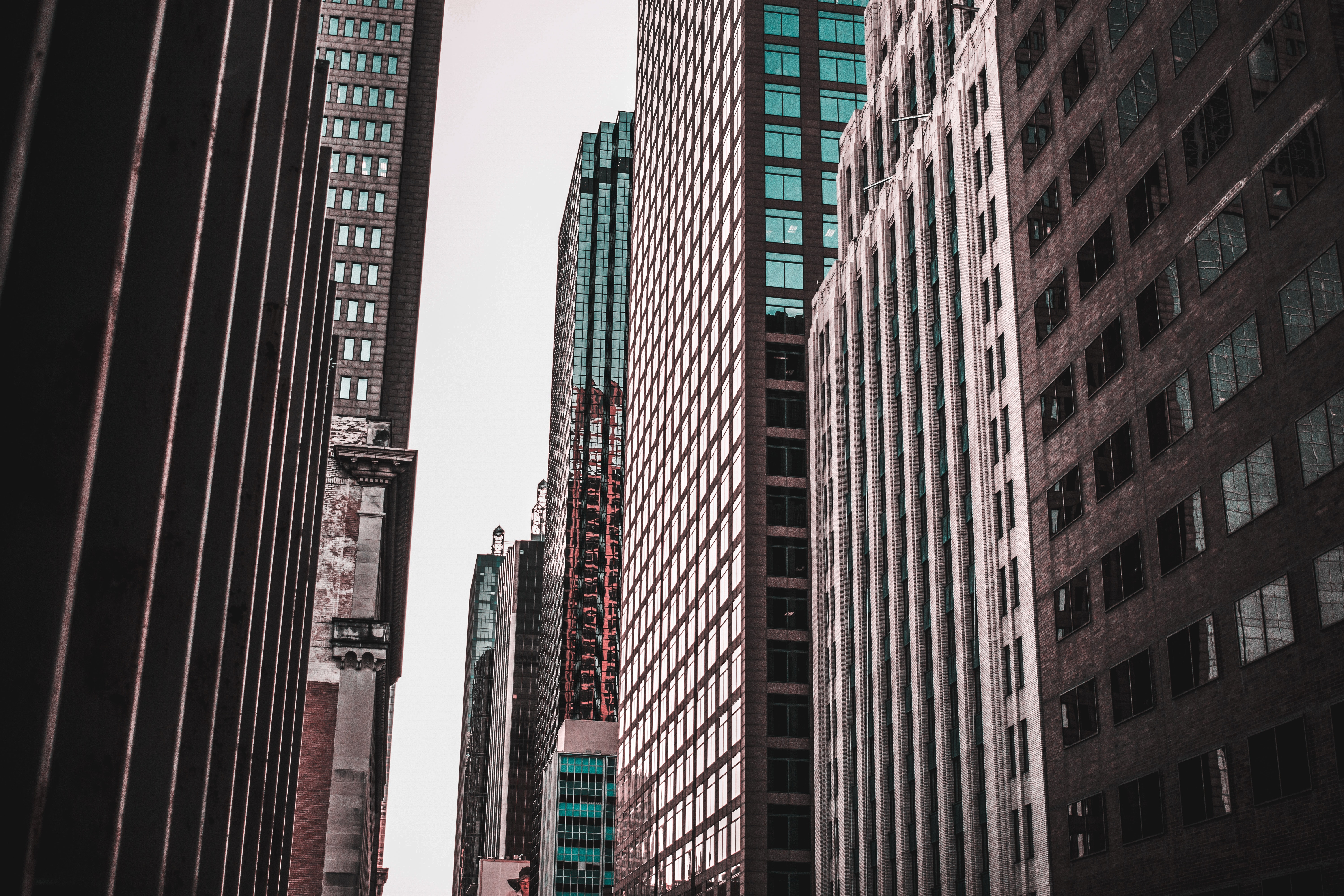 High-rise buildings photo