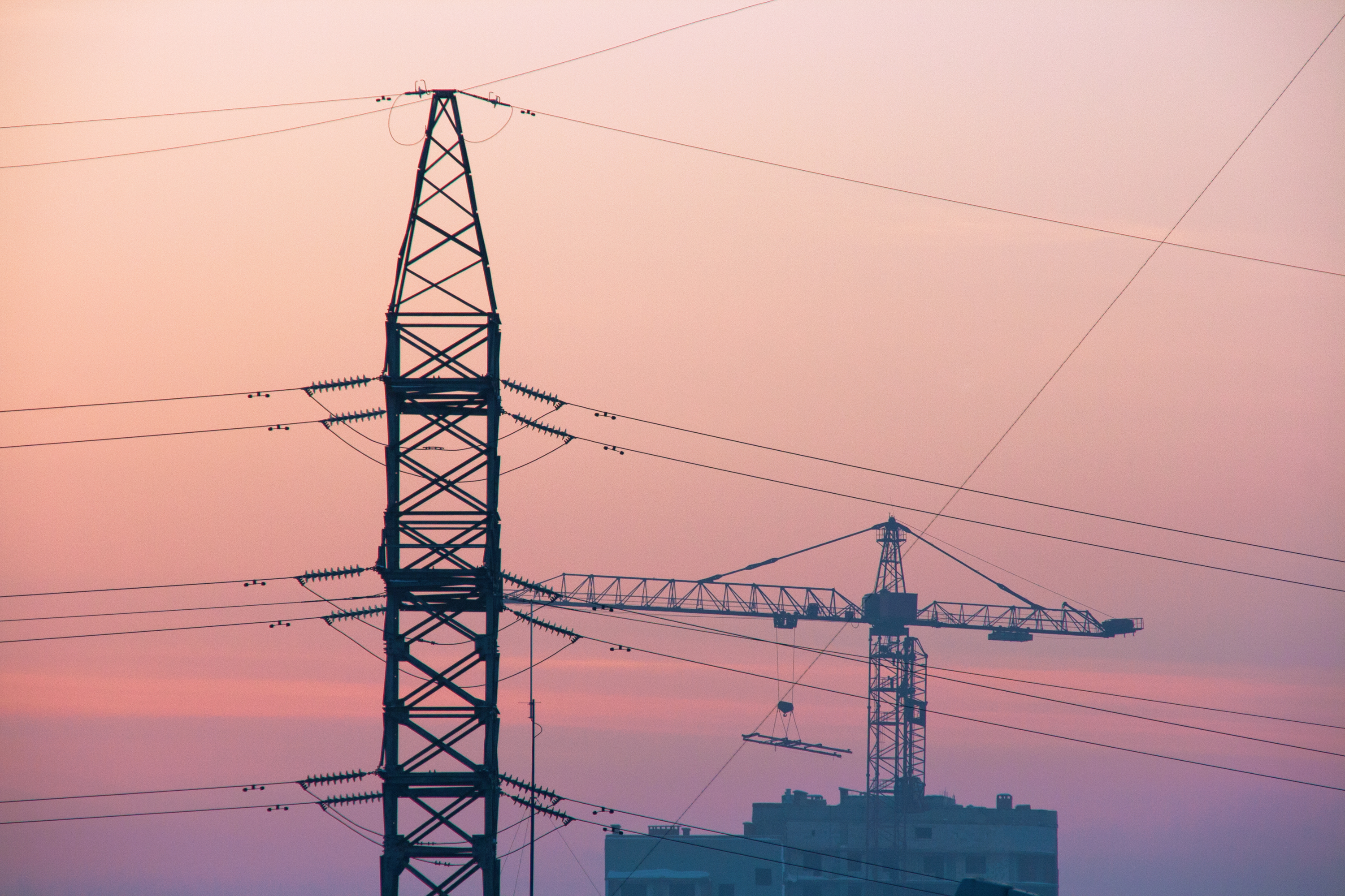 High-voltage tower, Cable, Powerful, Ufa, Transmission, HQ Photo