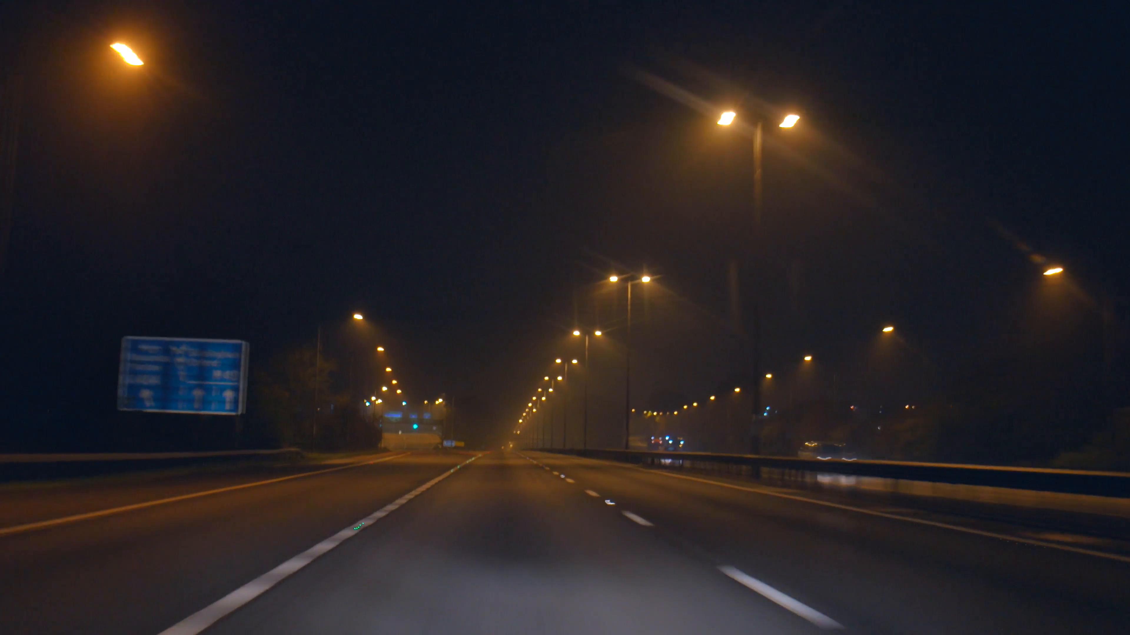 Free Photo Highway At Night Dark Effects Fast Free Download Jooinn