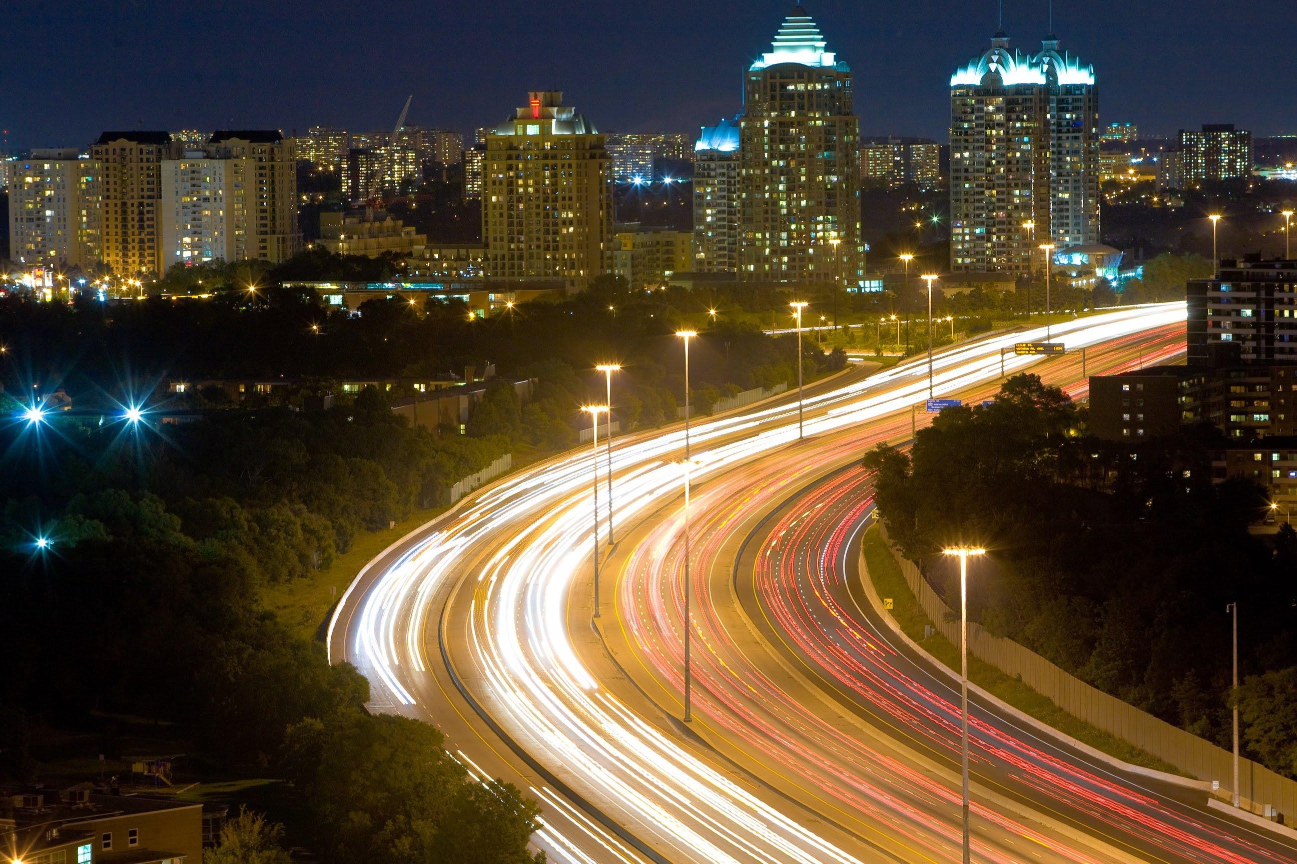 Highway 401 Night Drive - YouTube