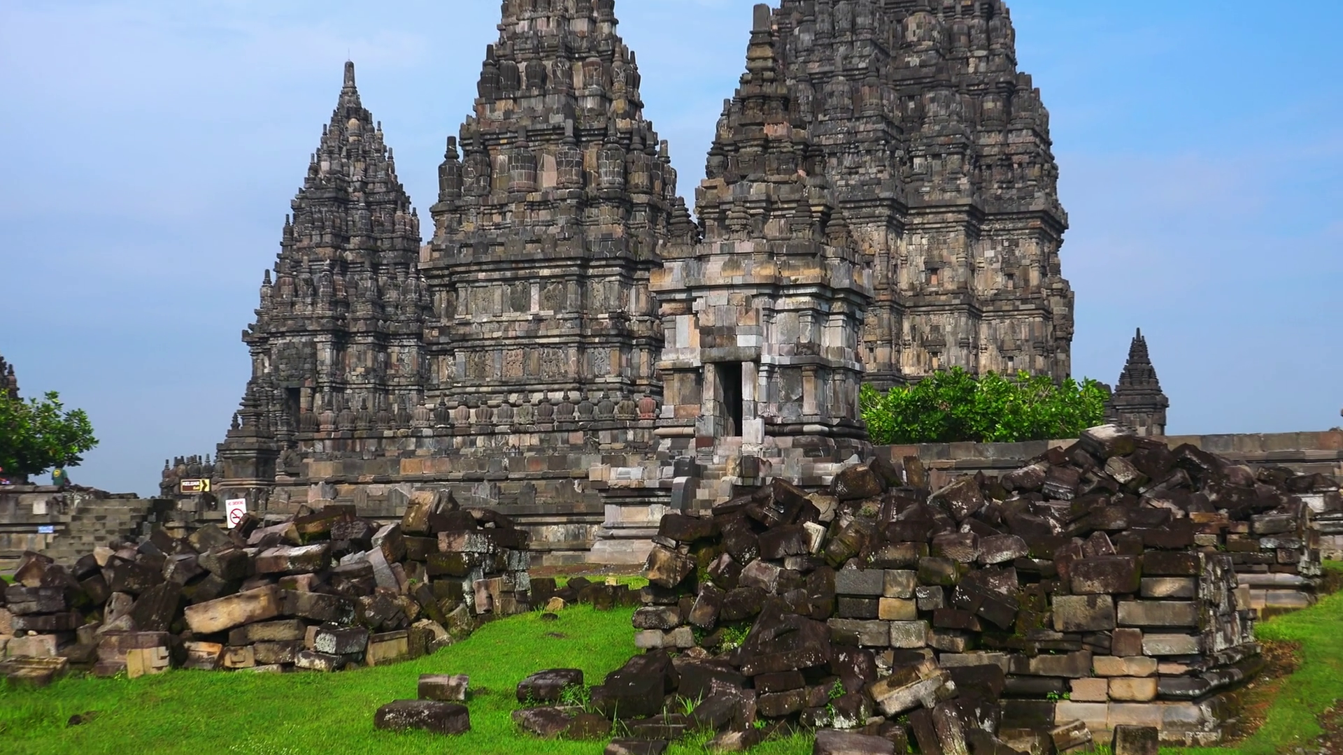 Candi Prambanan or Rara Jonggrang, largest Hindu temple site in ...