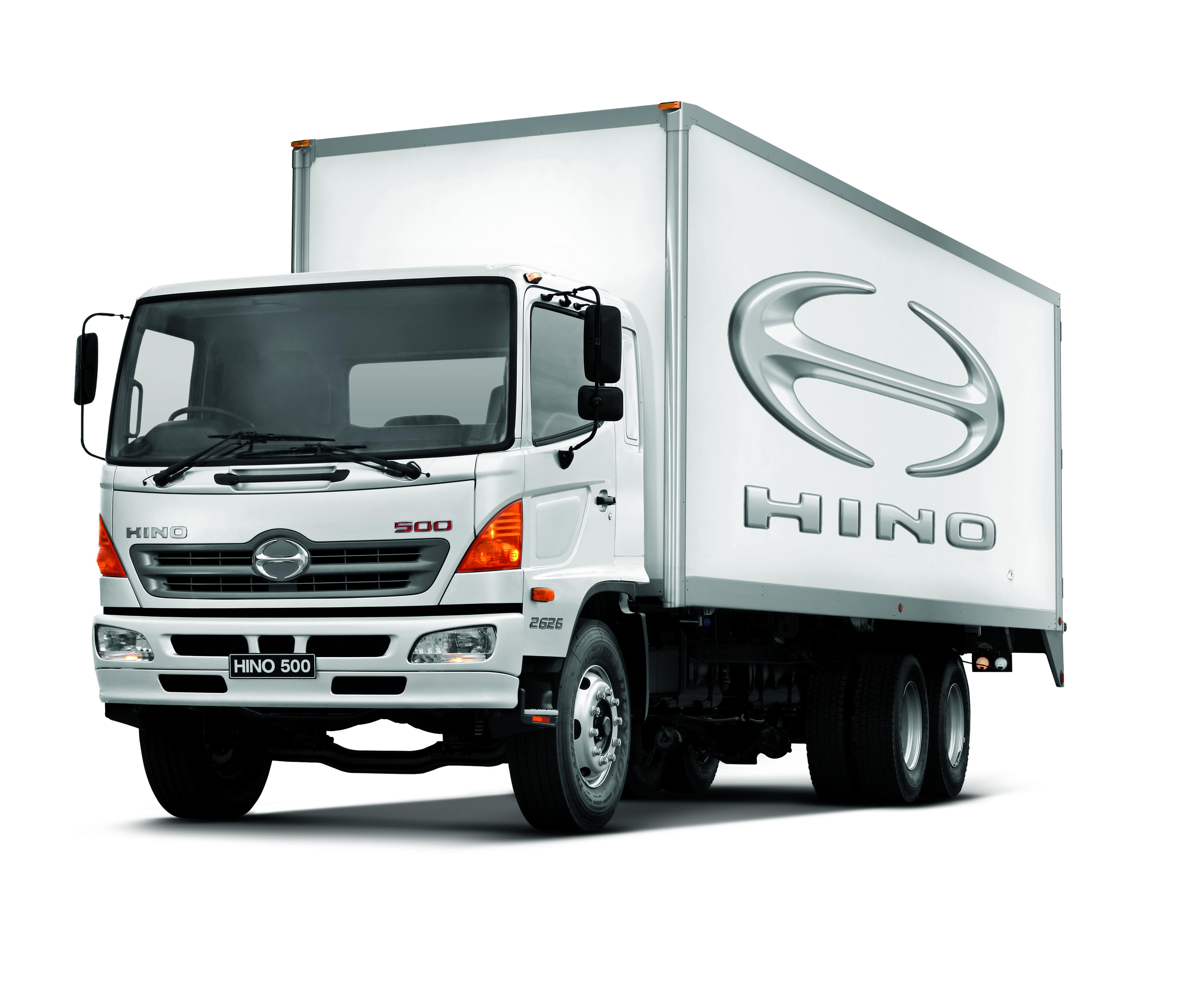 Hino truck photo