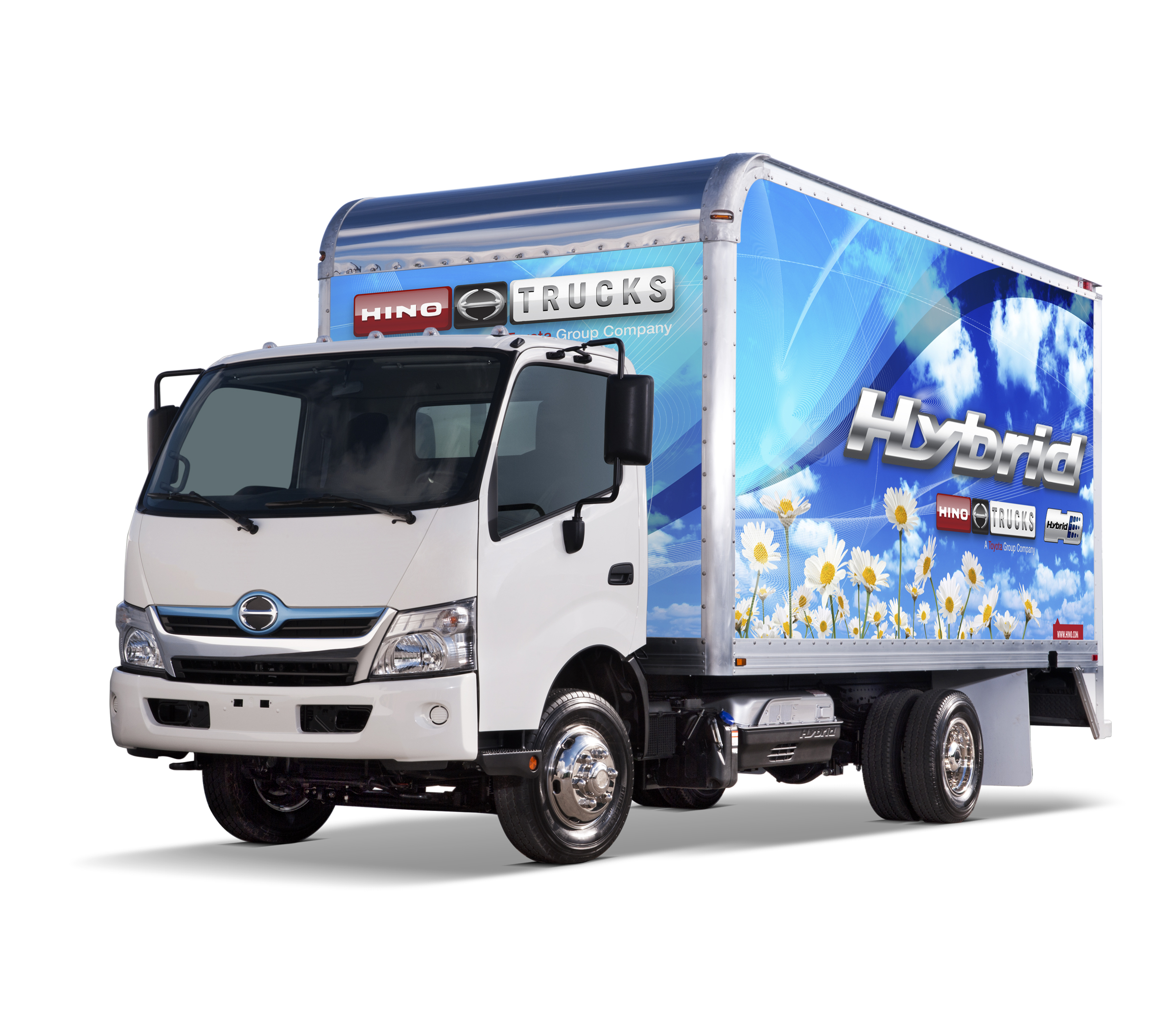 Hino Trucks: Diesel, diesel-electric hybrid powertrain trucks out ...