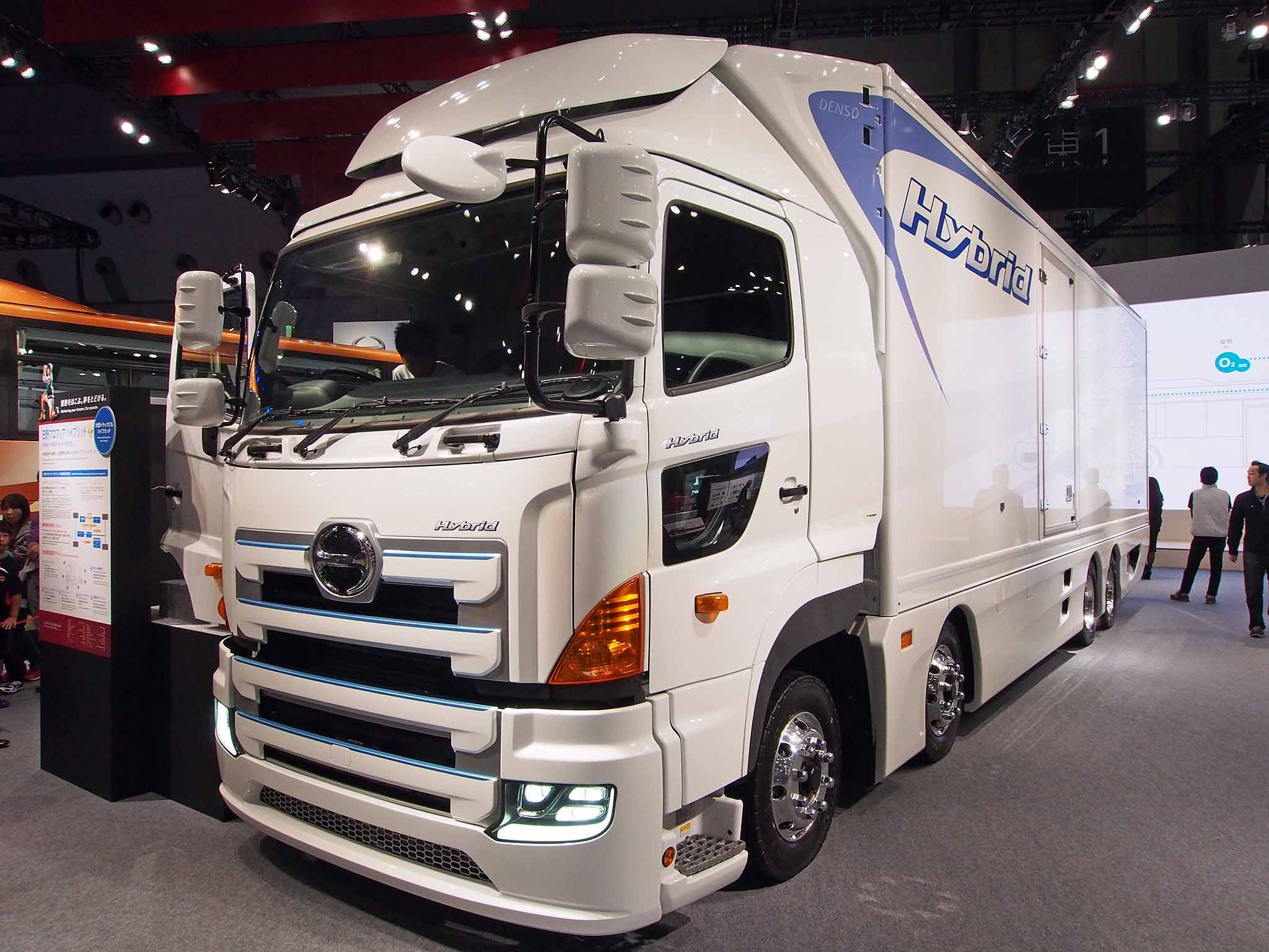 Hybrid Hino Trucks | Car Picture Update