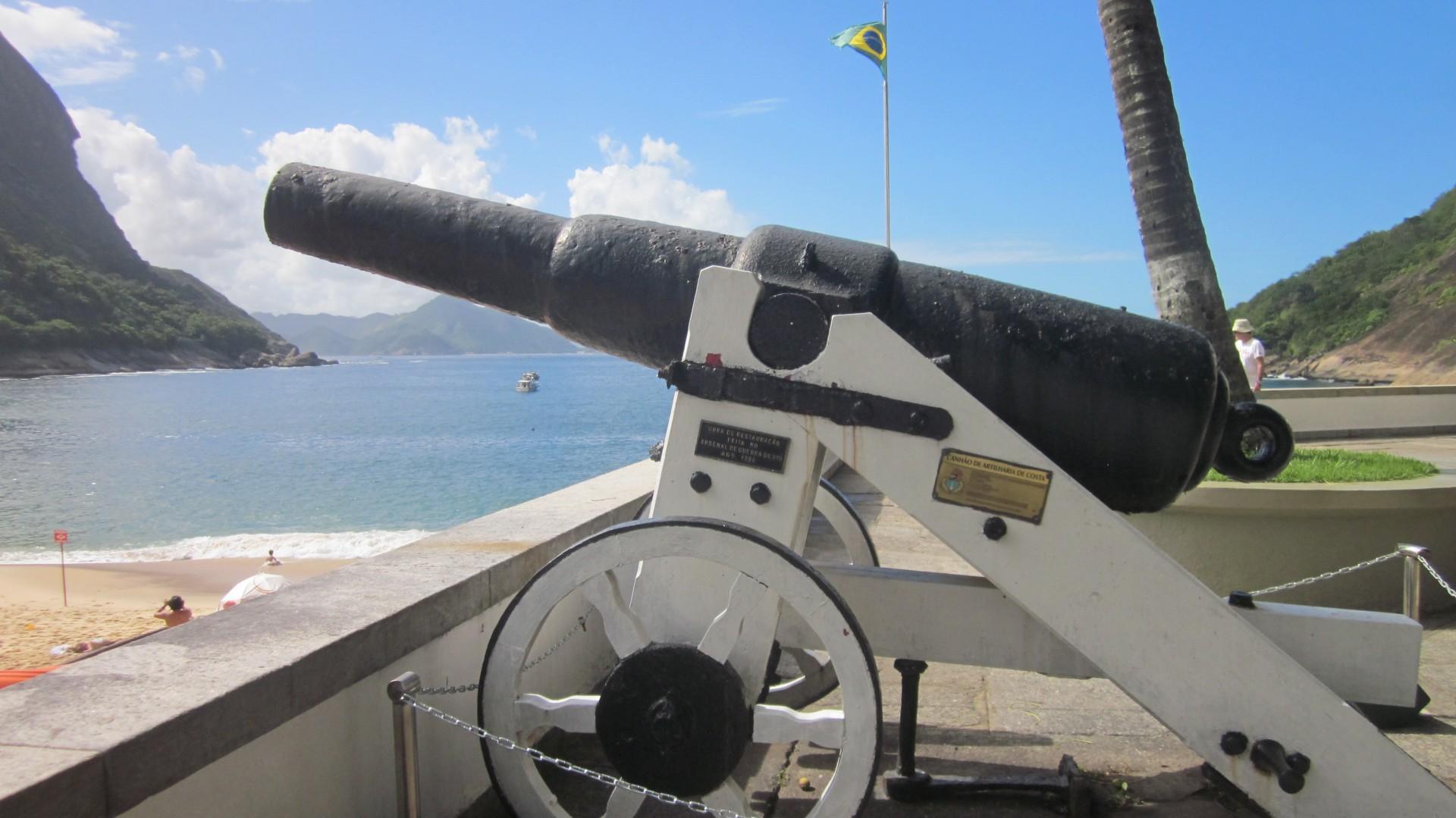 Historic Cannon In Rio Free Stock Photo - Public Domain Pictures