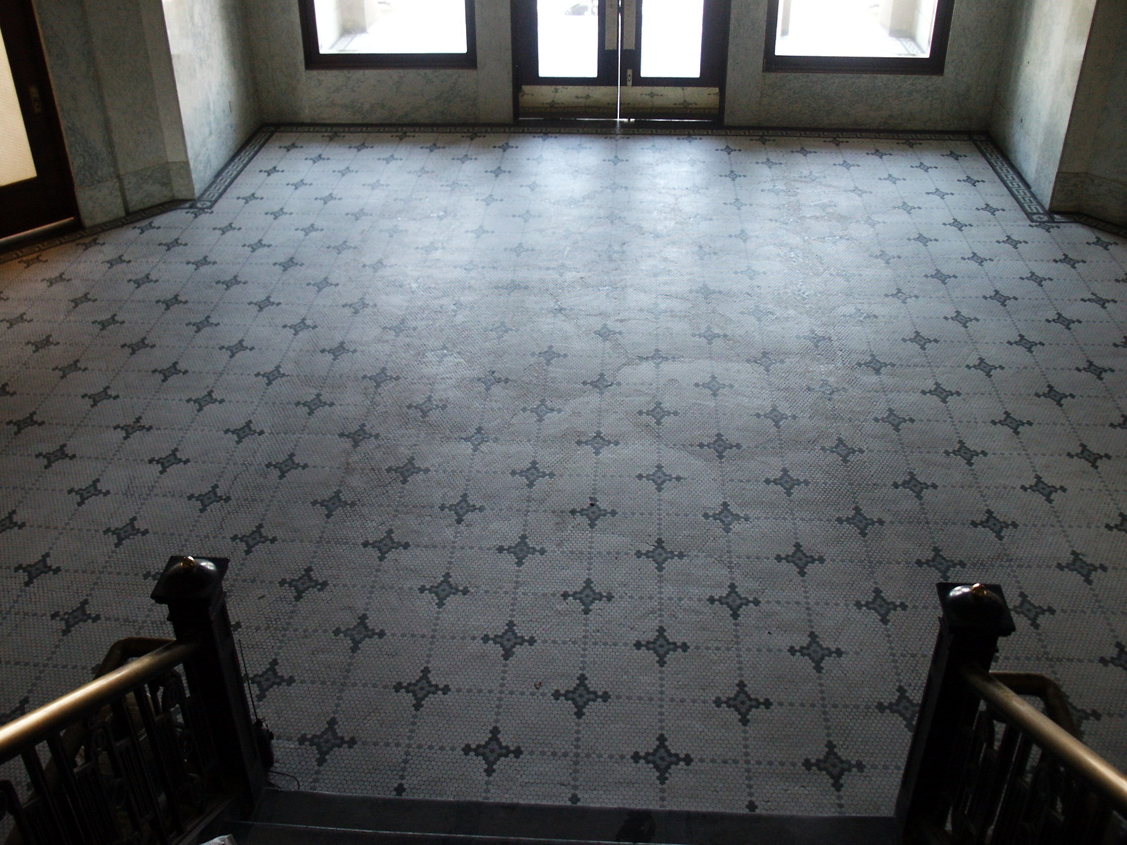 Historic tile flooring photo