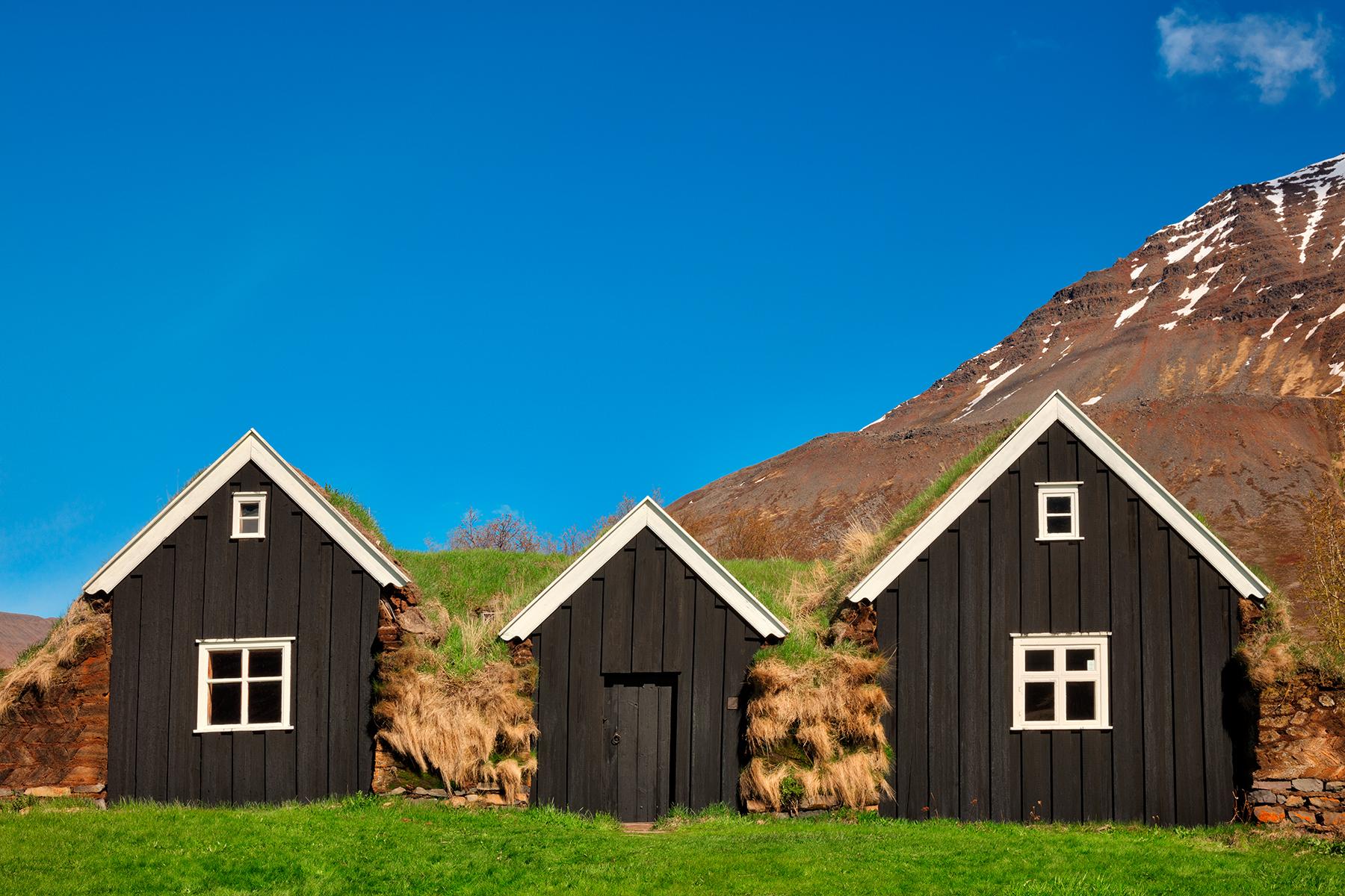 Holar Turf House, Age, Region, Scenic, Scenery, HQ Photo