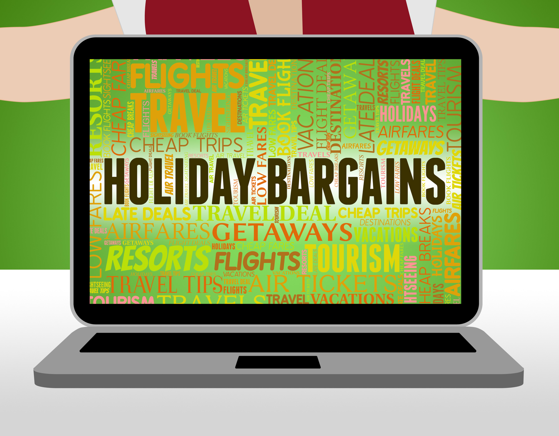 Holiday Bargains Represents Holidays Promotional And Vacation, Bargain, Promo, Vacationing, Vacational, HQ Photo