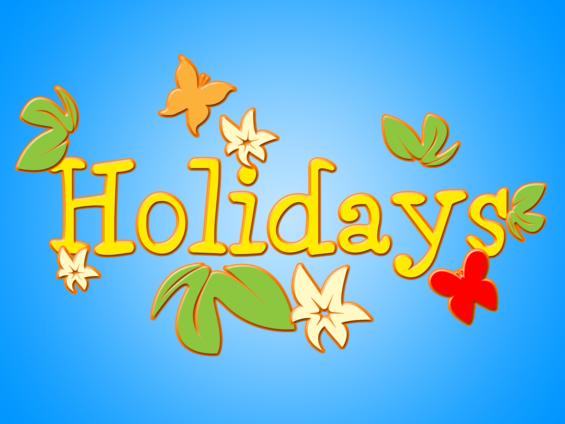 Holiday Flowers Shows Go On Leave And Bloom, Holiday, Vacationing, Vacational, Vacation, HQ Photo