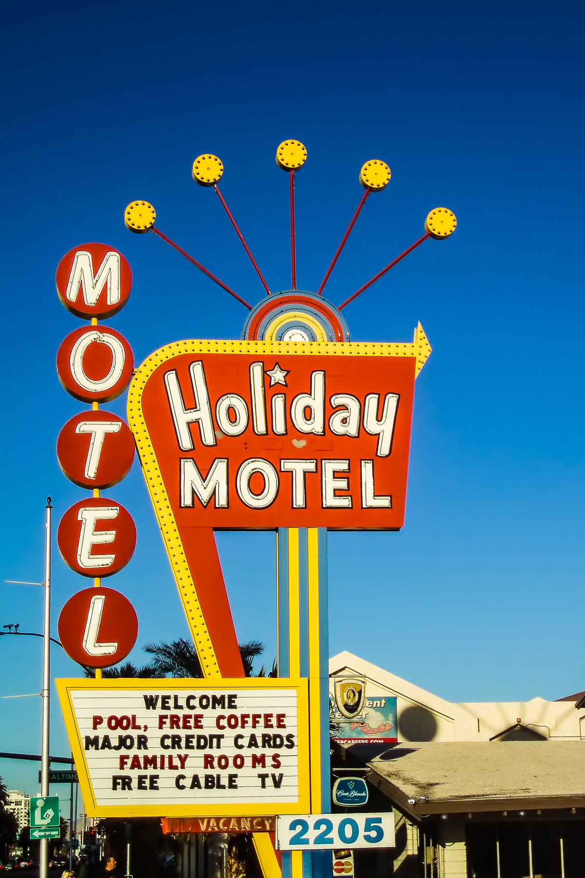 Holiday Motel | Las Vegas | 75CentralPhotography
