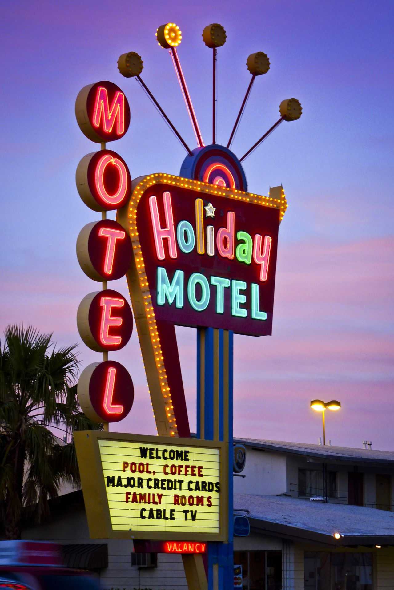 Holiday Motel, Las Vegas Boulevard | Wow, let's go there ...