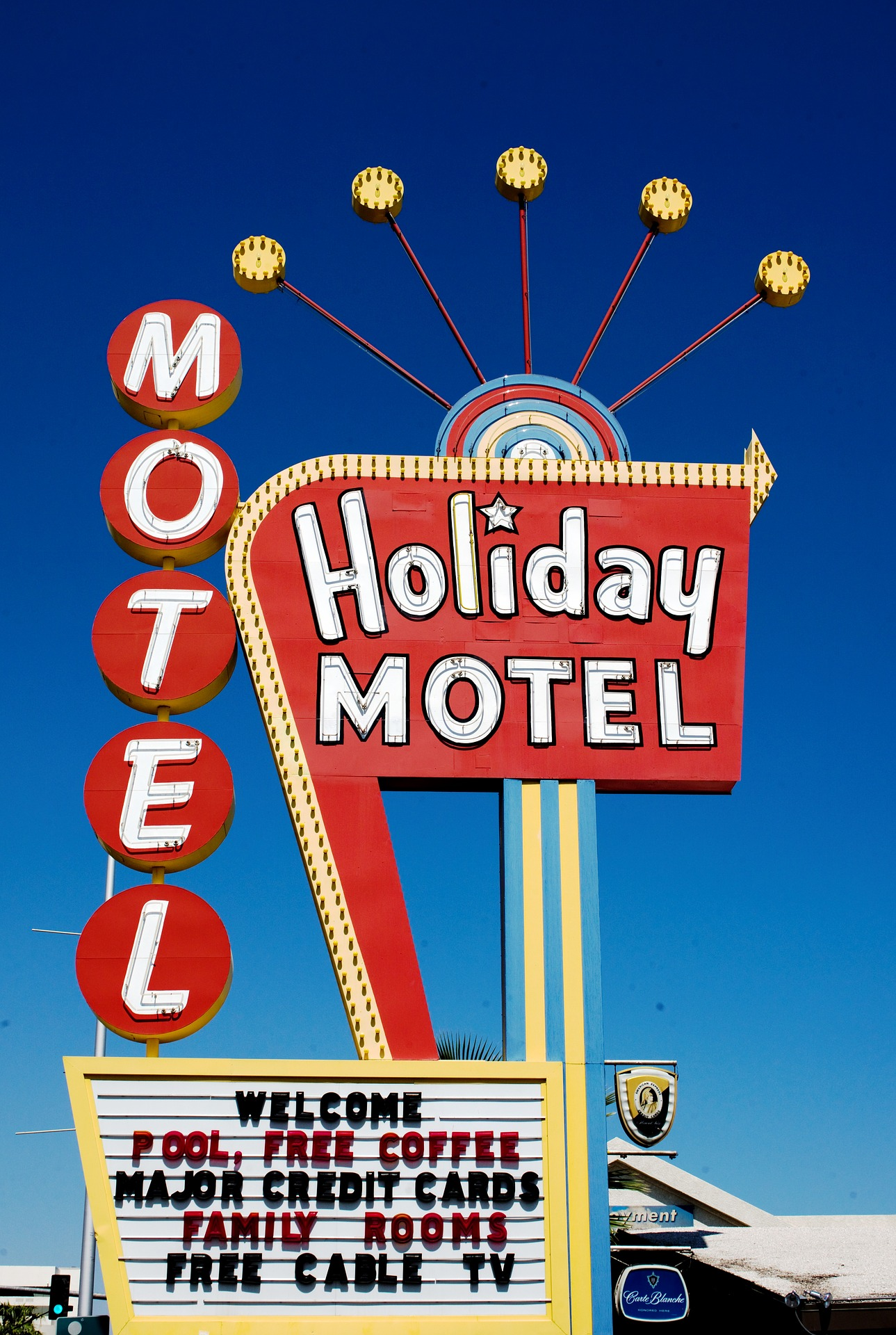 Holiday Motel, Sign, Motel, Keep, Hotel, HQ Photo