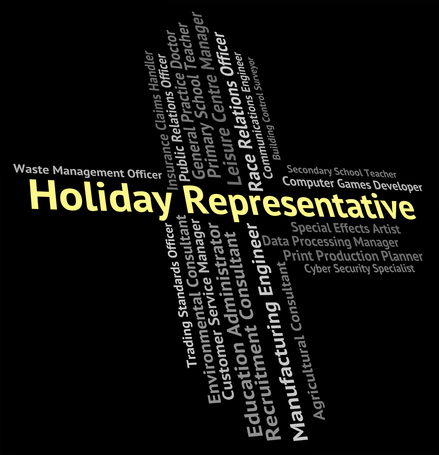 Holiday representative means go on leave and career photo