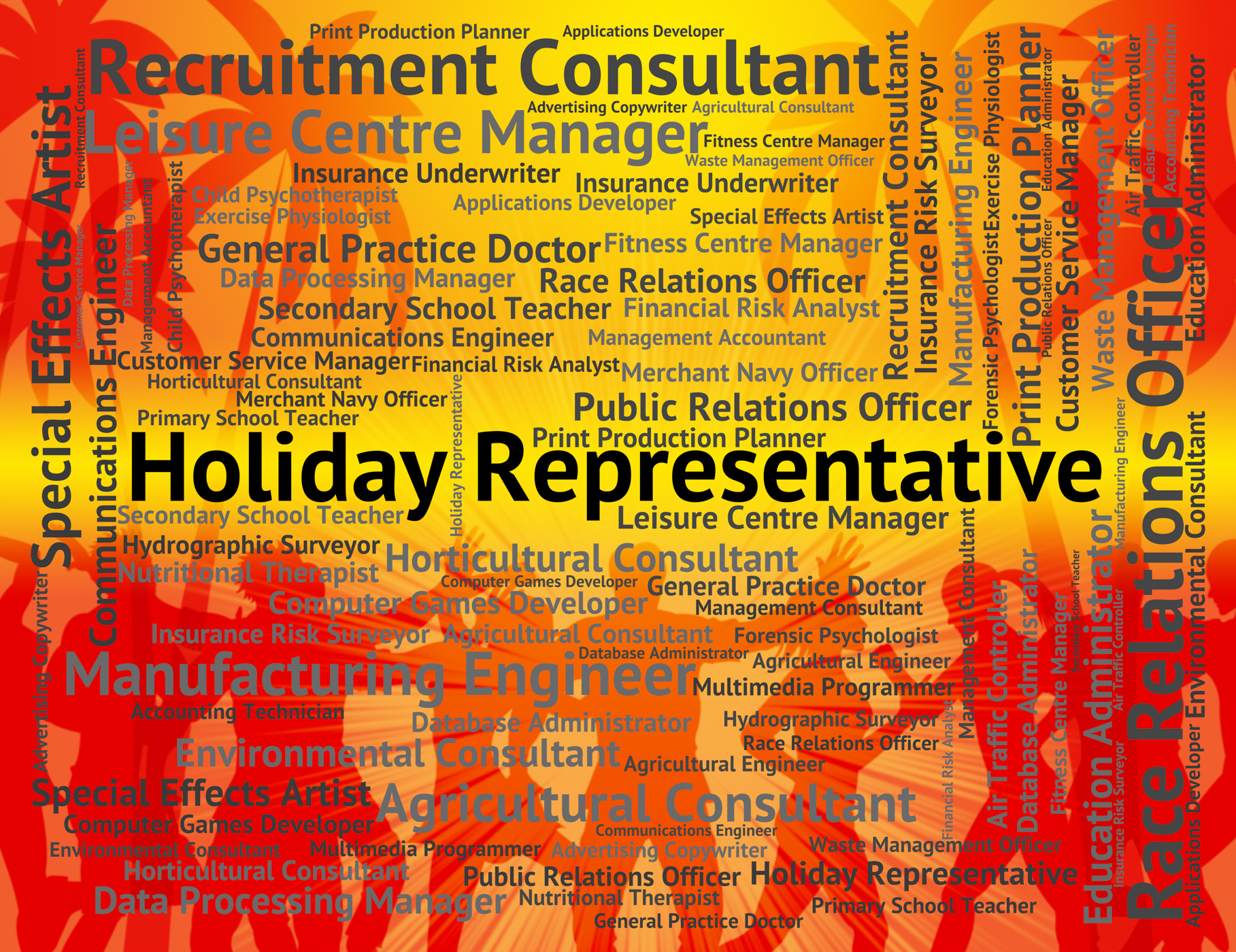 Free photo: Holiday Representative Shows Go On Leave And