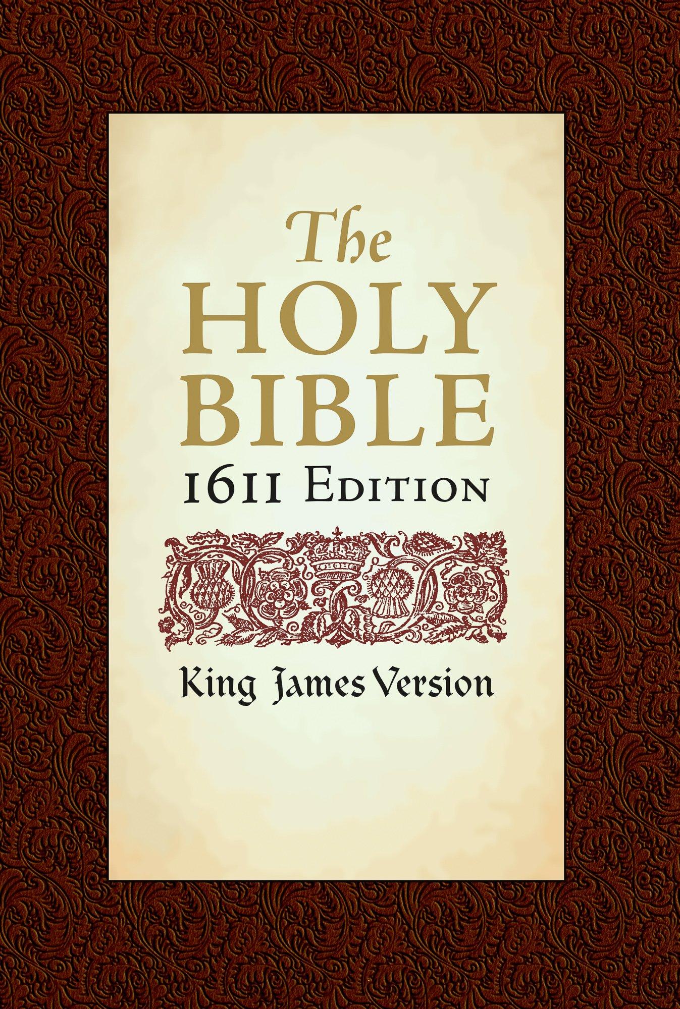 Holy Bible: King James Version, 1611 Edition: Hendrickson Publishers ...