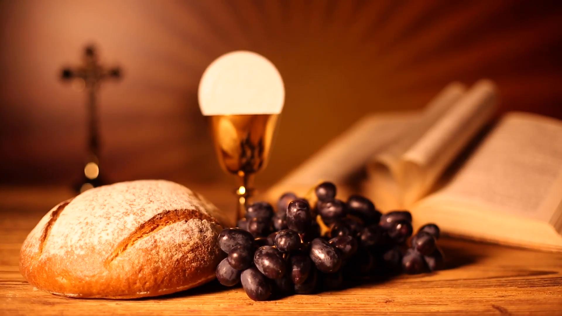 Free Photo Holy Communion Bread Breakingofbread