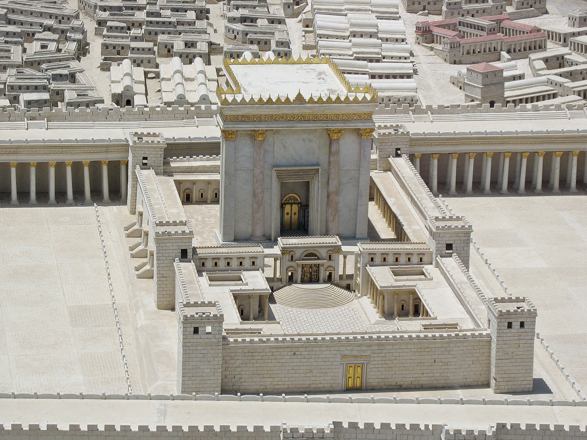 The Second Temple was an important Jewish Holy Temple (Hebrew ...
