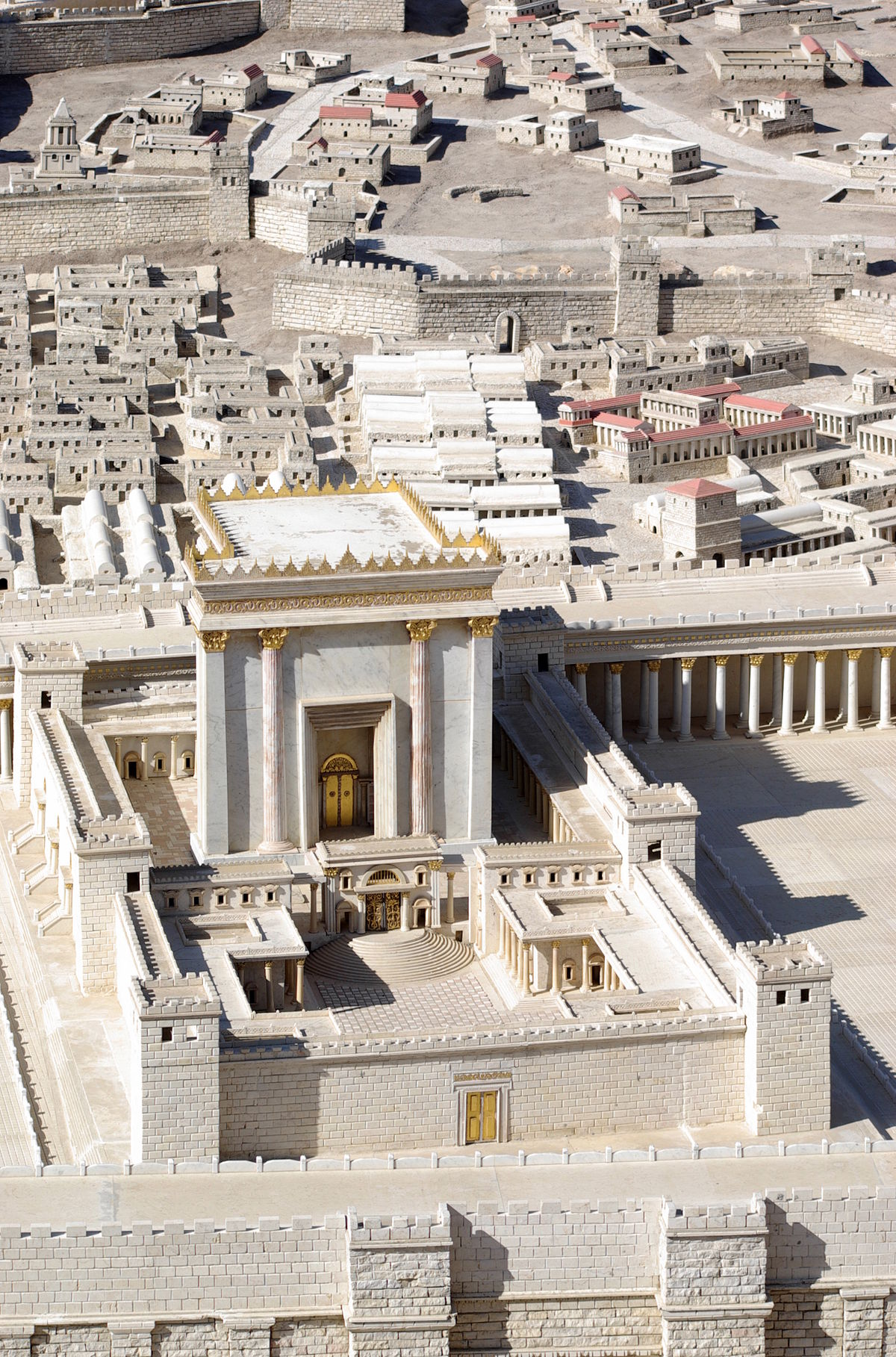 Temple in Jerusalem - Wikipedia