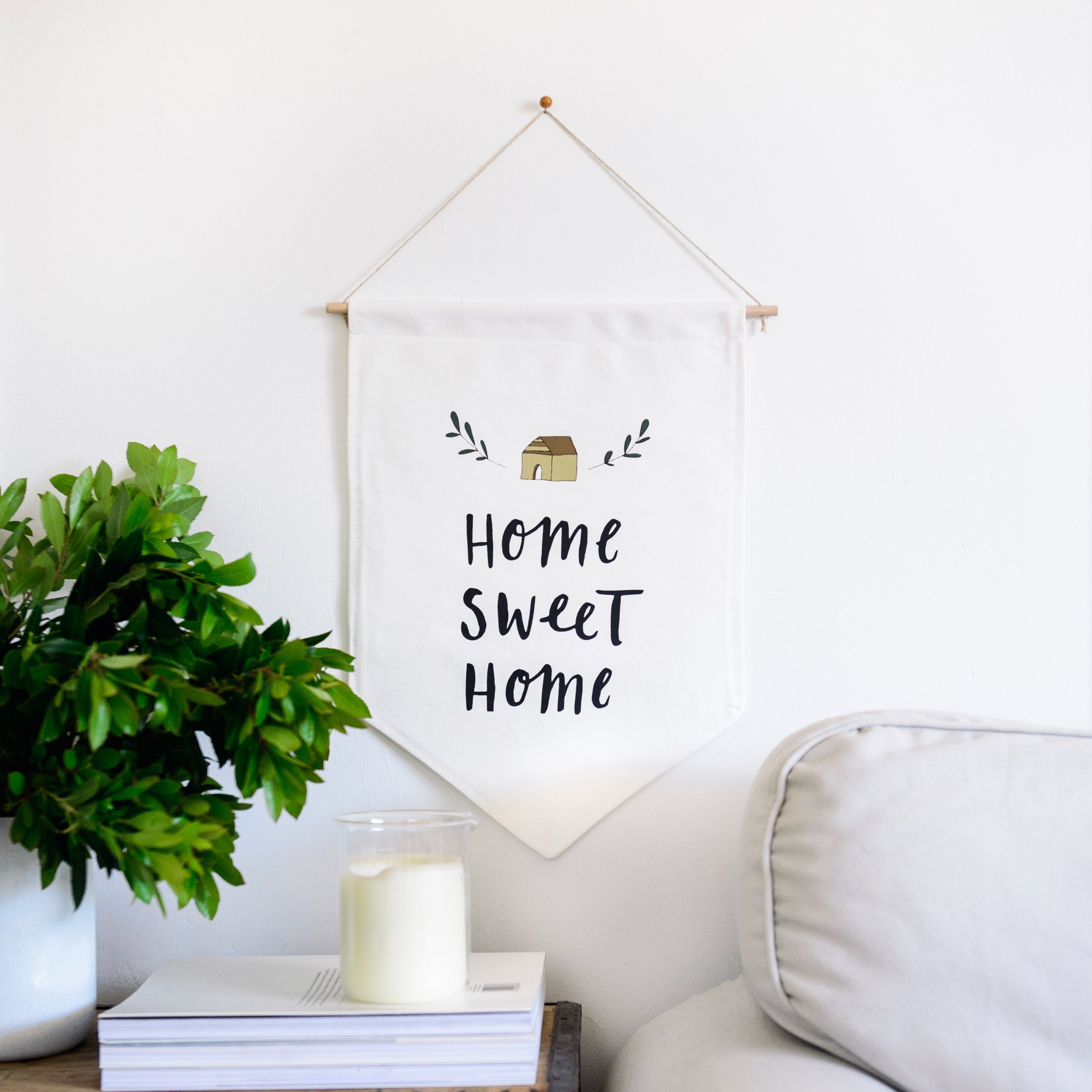 Home Sweet Home Wall Flag – In The Daylight