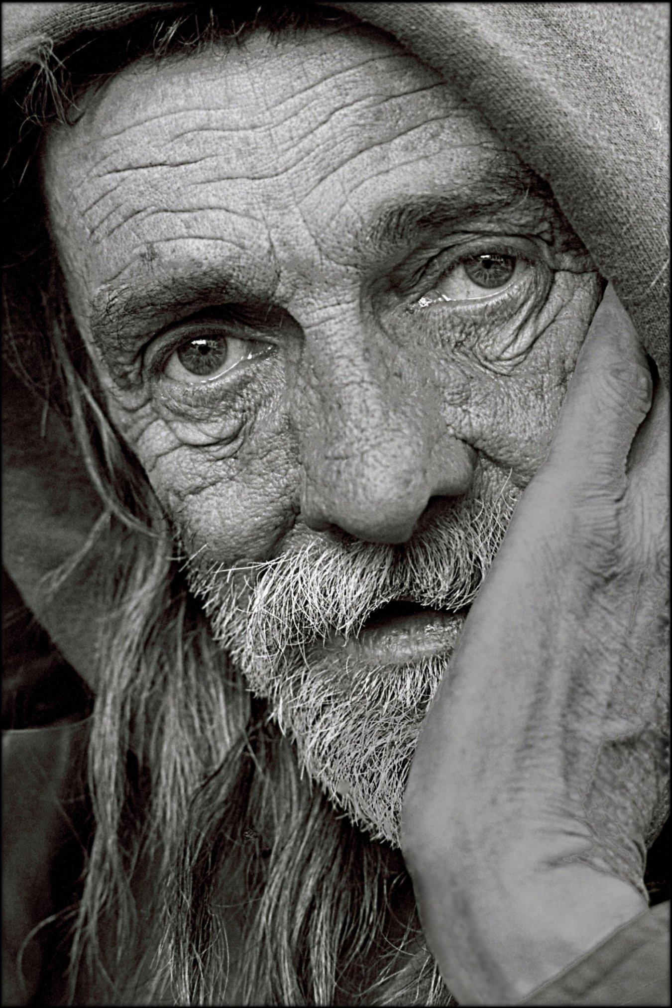 Homeless mike photo