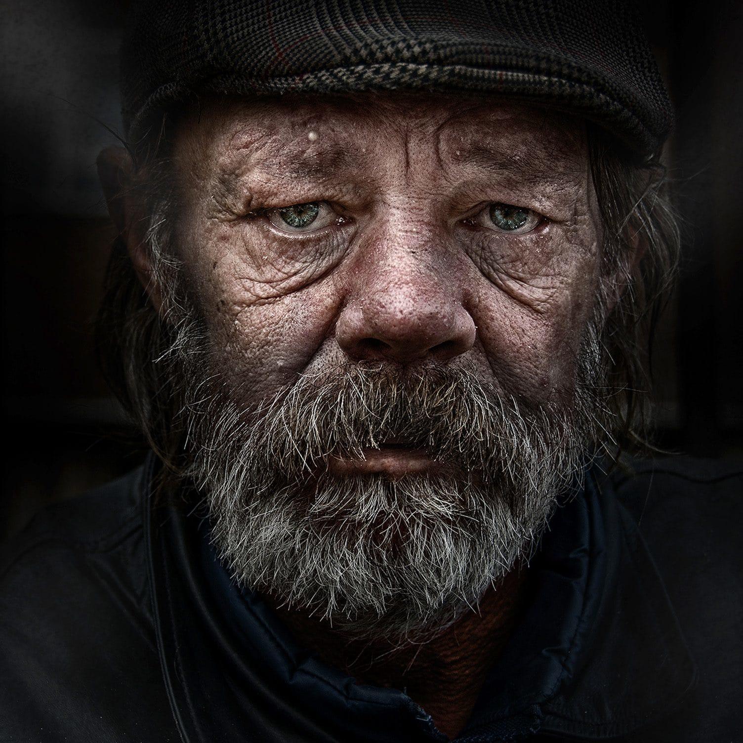 Homeless portraiture photo