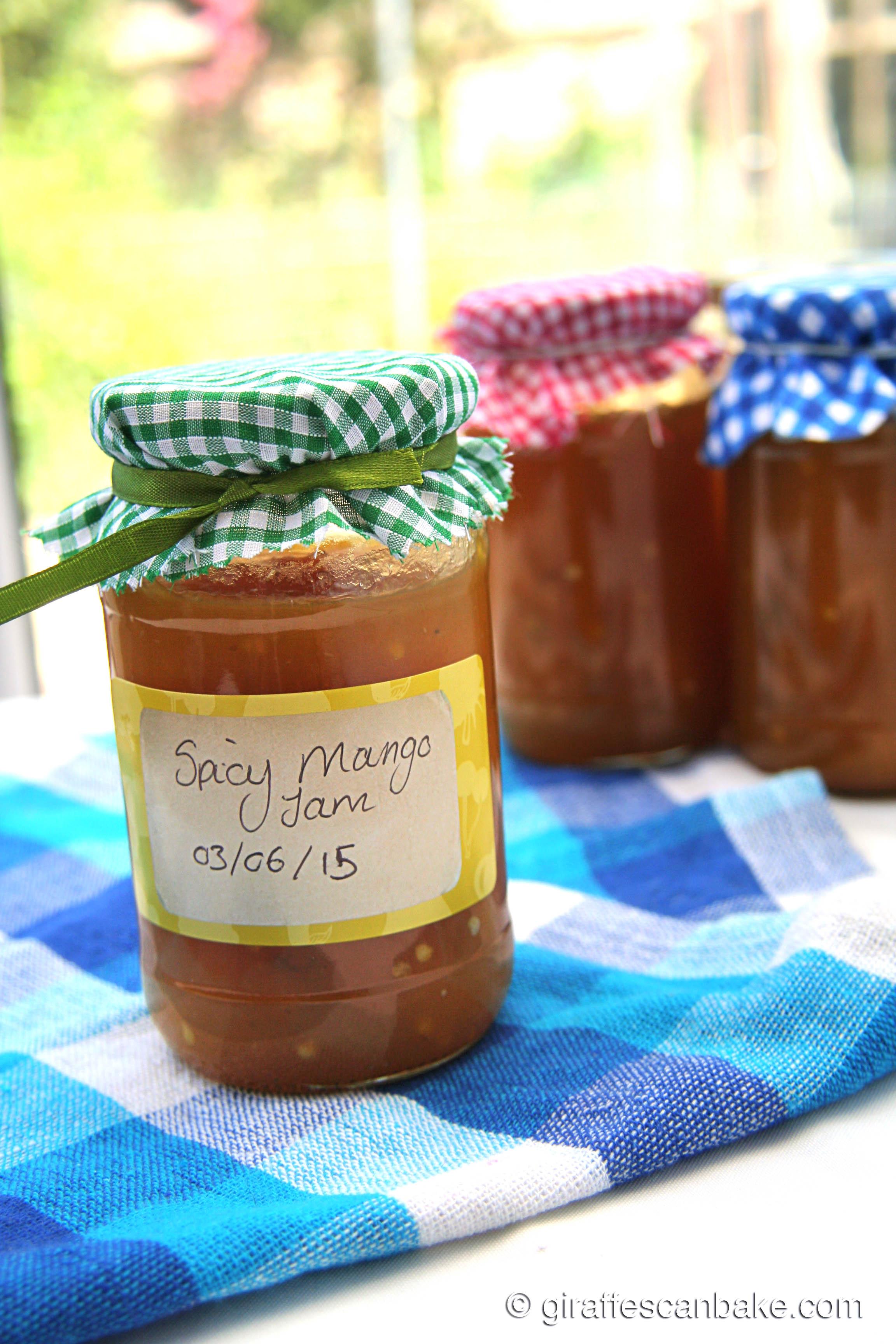 Spicy Mango Jam  Giraffes Can Bake