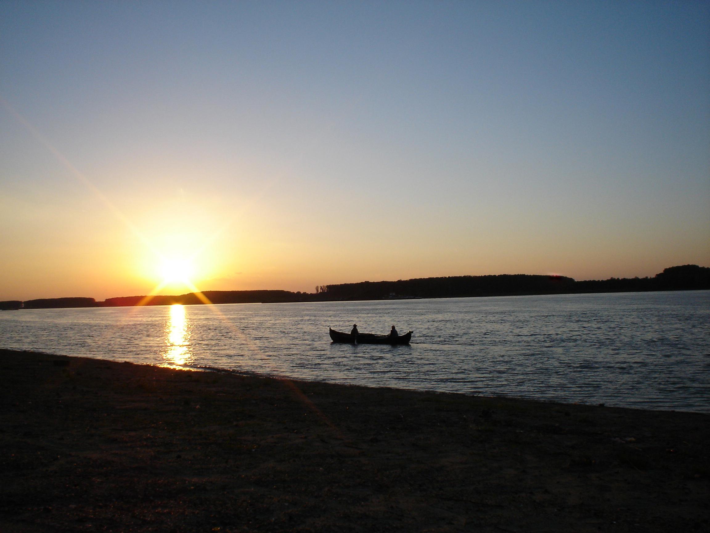Hometown sunset photo