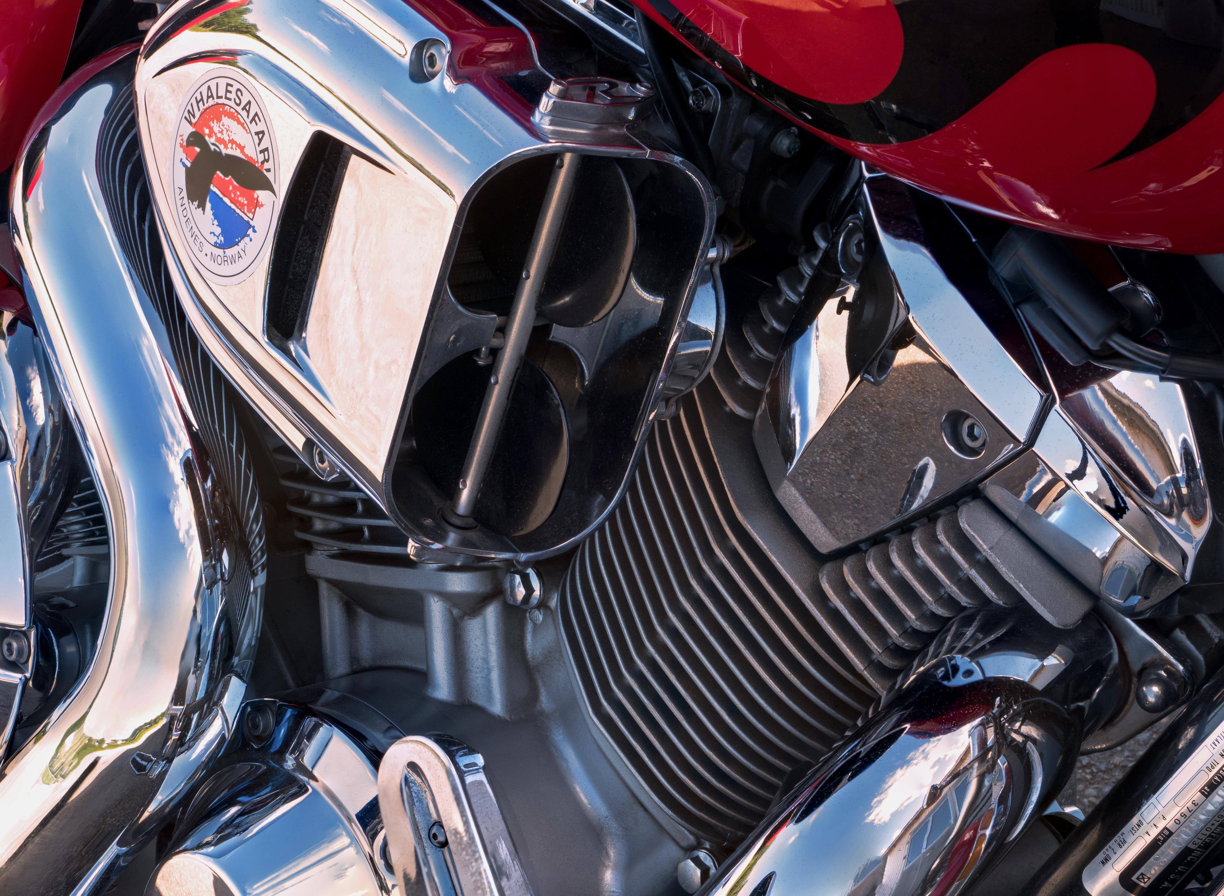 Honda VTX 1800 C 2007 - air intake, 1800, Car, Chrome, Honda, HQ Photo