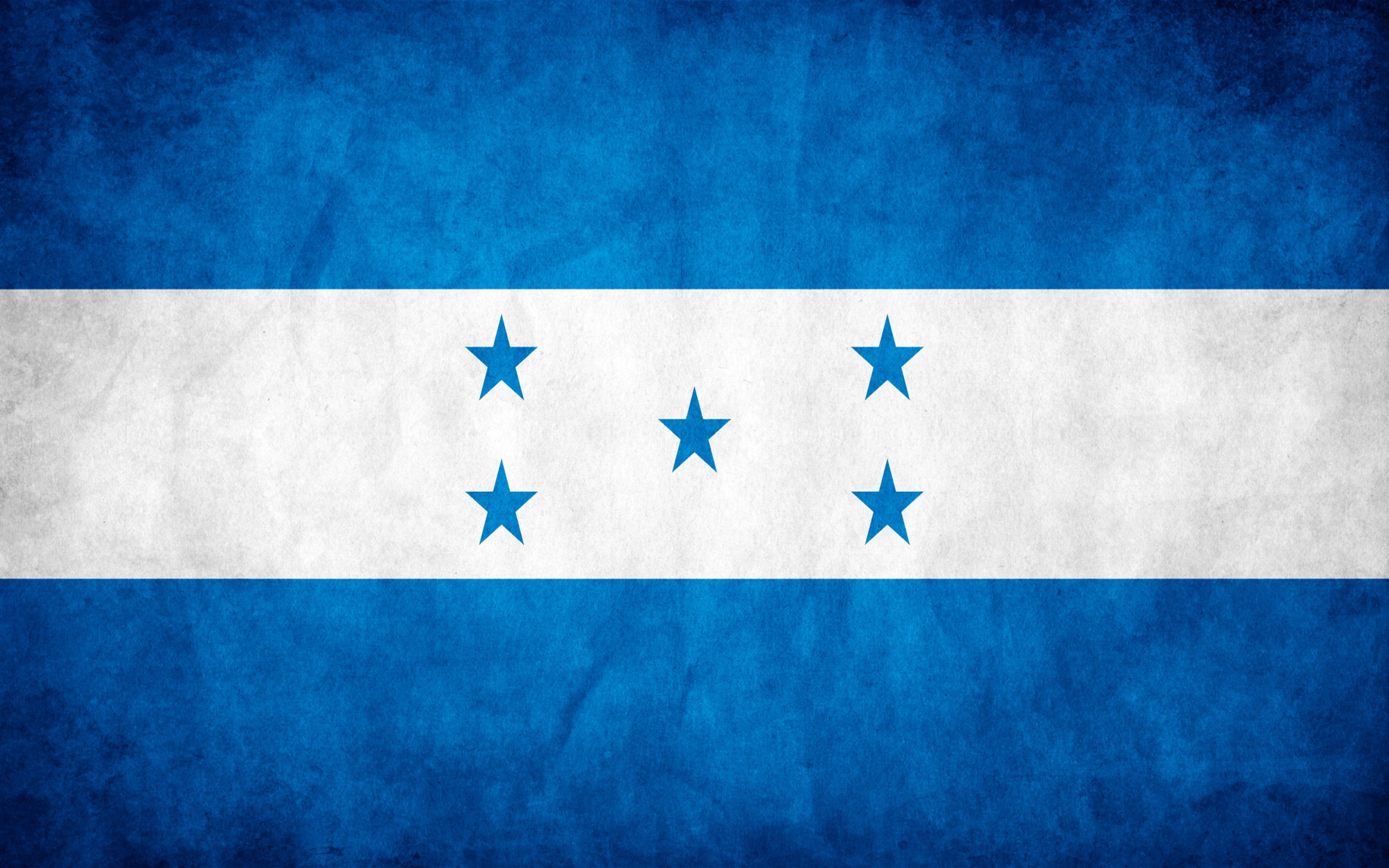 Honduras grunge flag photo