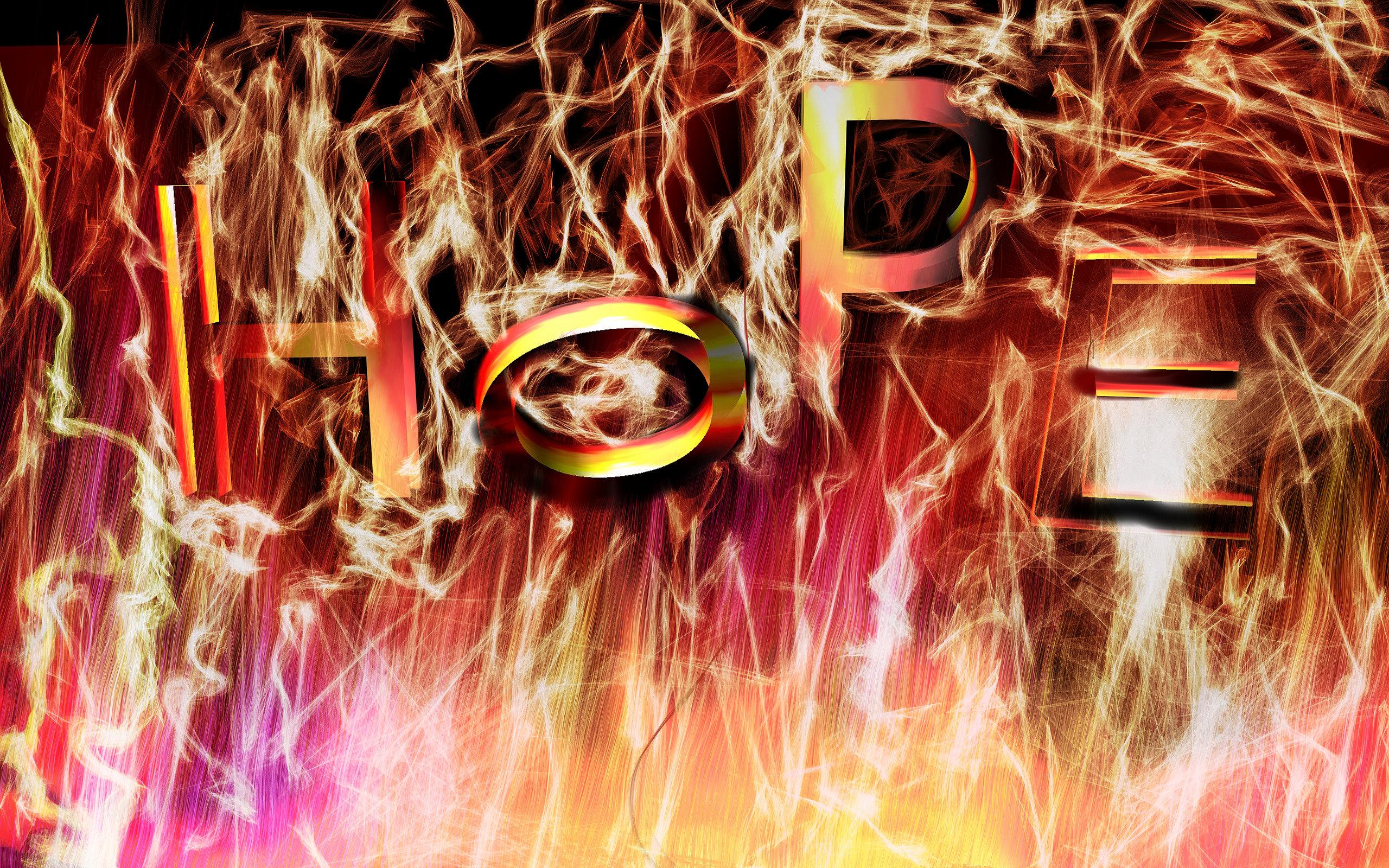 Hope, Fire, Glow, Magic, Light, HQ Photo