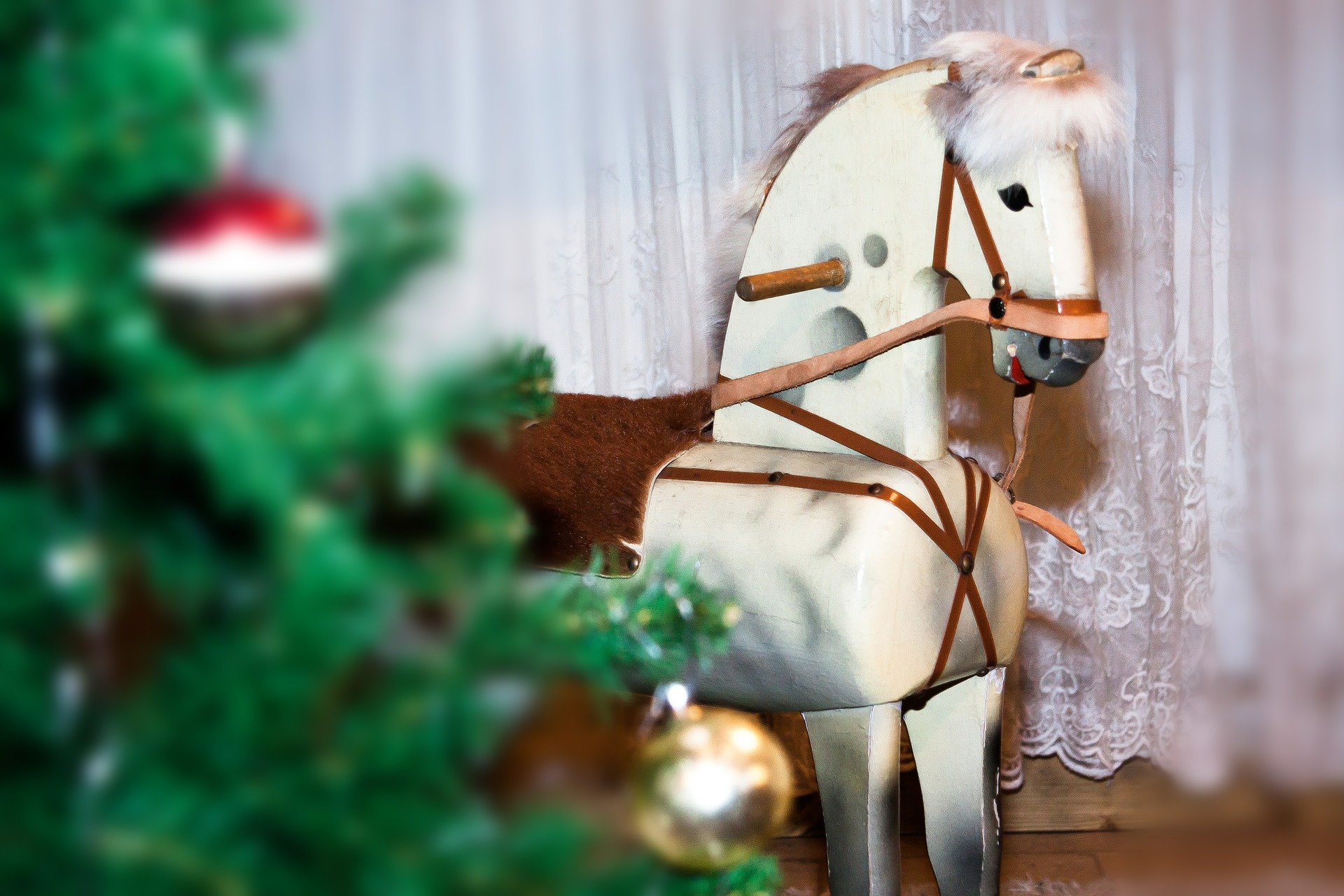 Horse figure photo