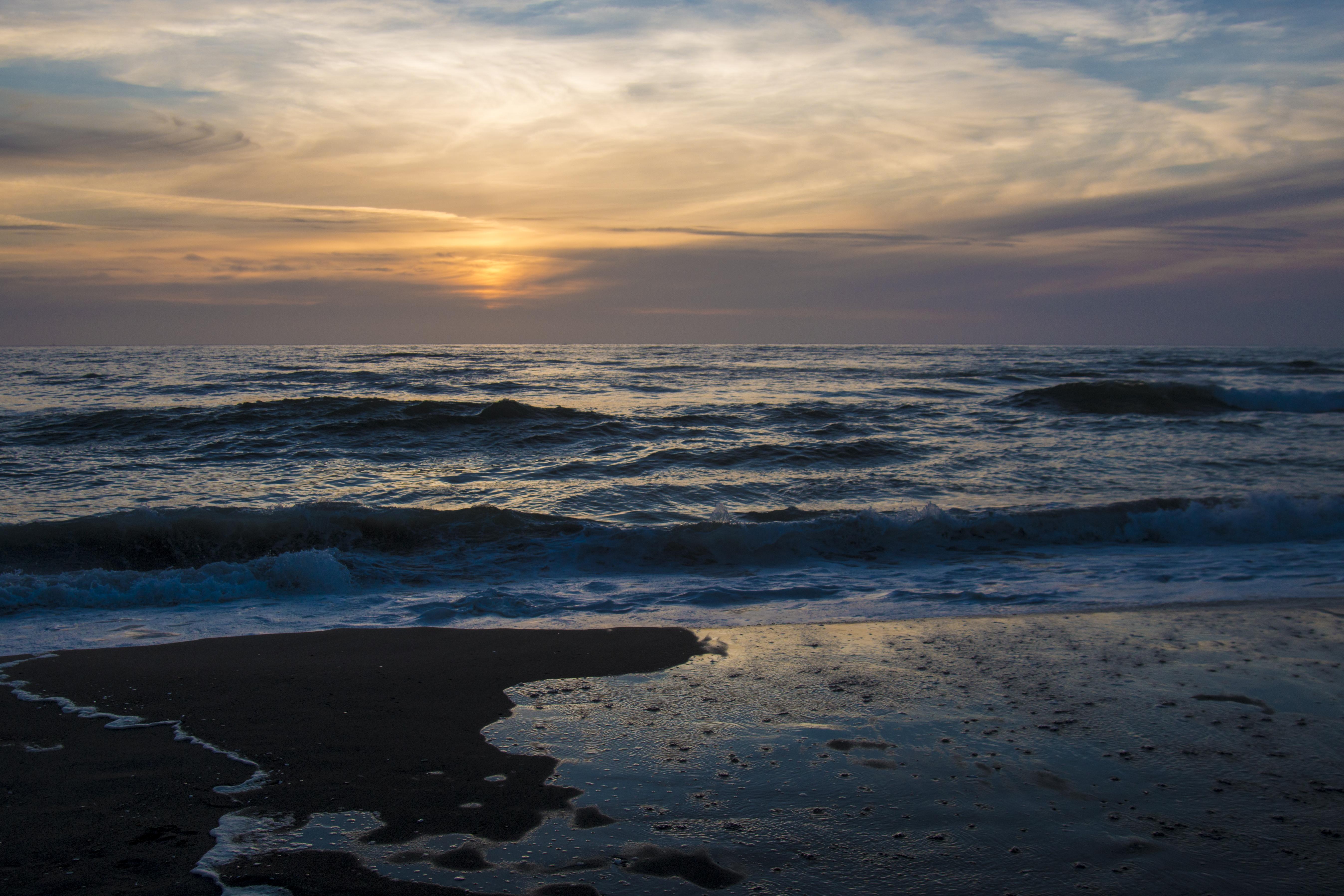 Horsefalls Beach, Oregon, Last Light, Beach, Last Light, Ocean, Oregon, HQ Photo