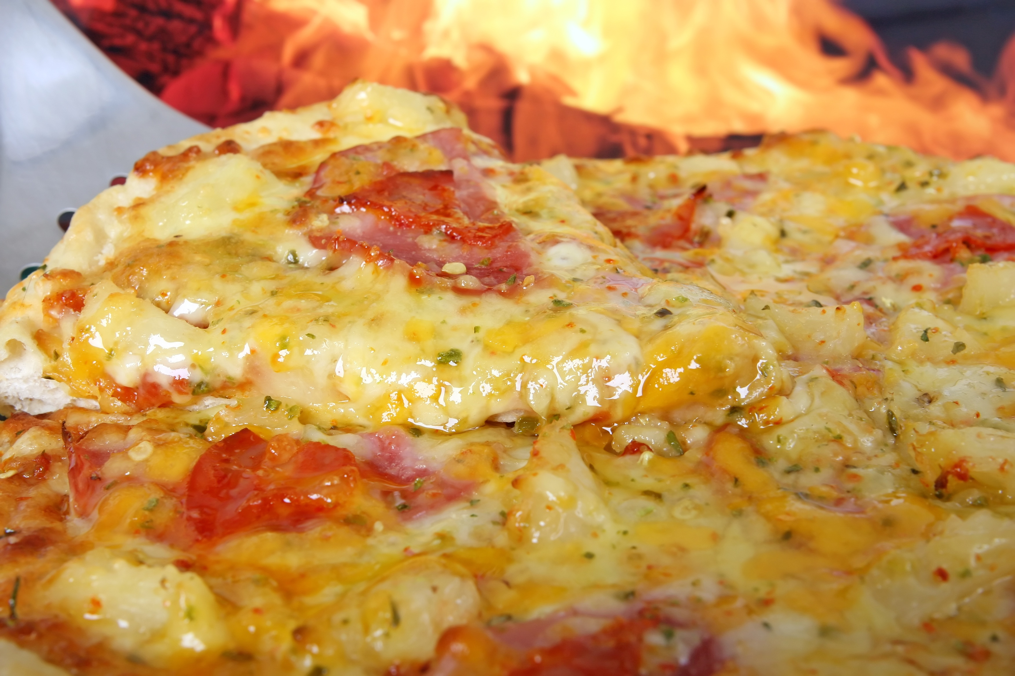 Hot, Fresh, Pizza, Food, Cheese, HQ Photo