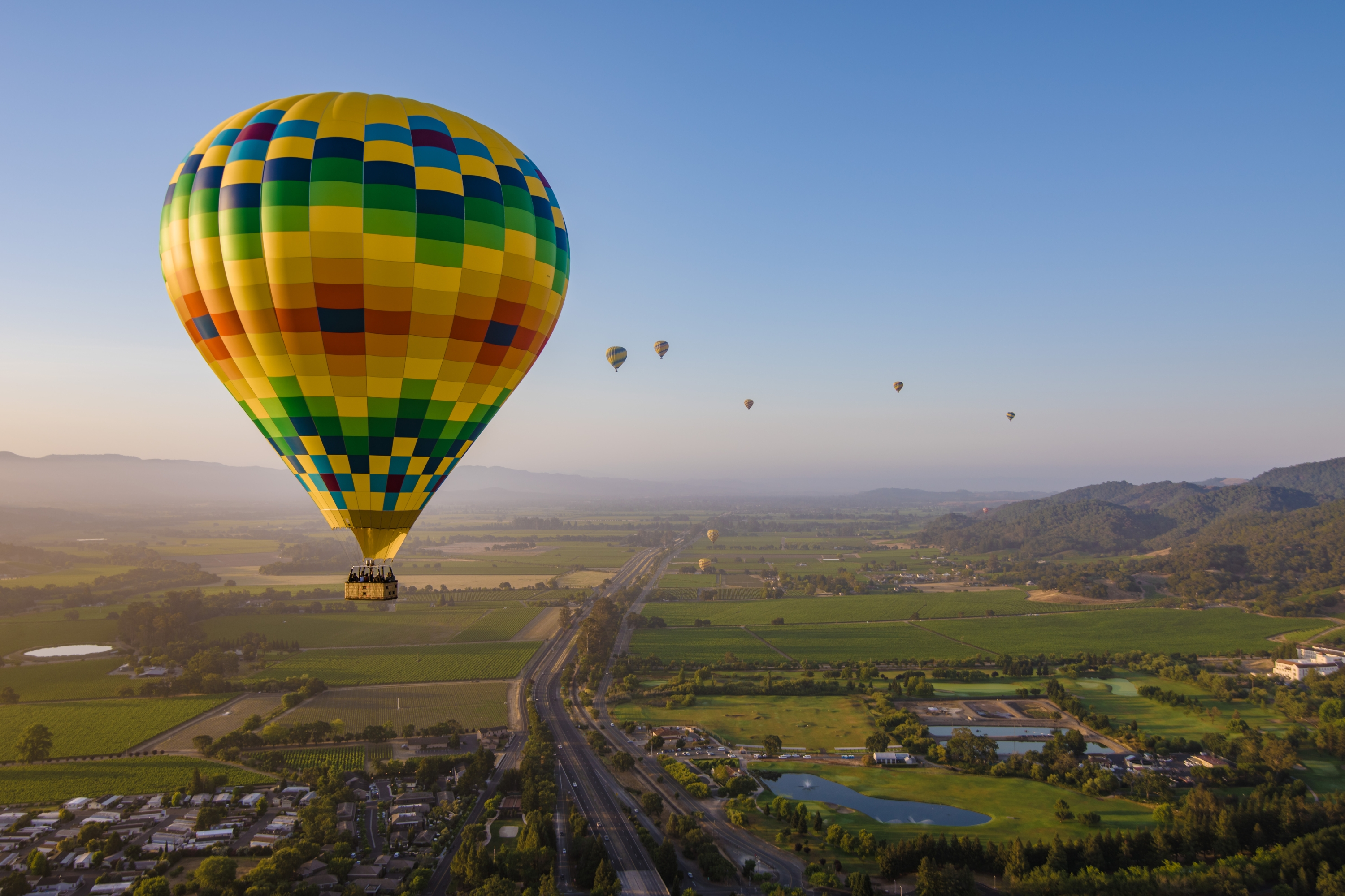 Hot Air Balloon Rides in Napa Valley | Unbeatable views