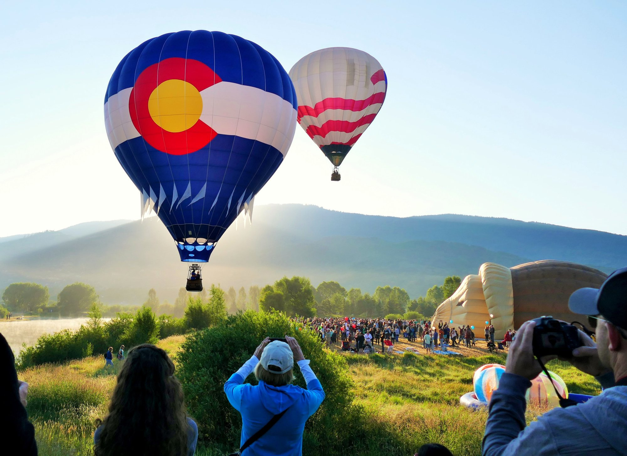 Breathtaking views at the Steamboat Hot Air Balloon Rodeo | FOX31 Denver